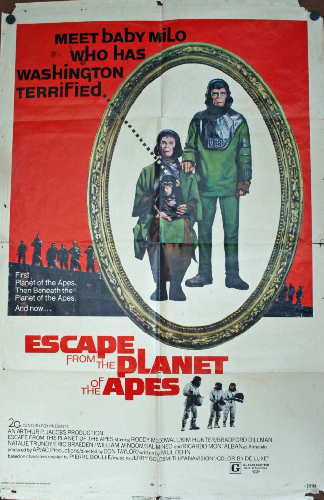 Escape from Planet of the Apes JMP
