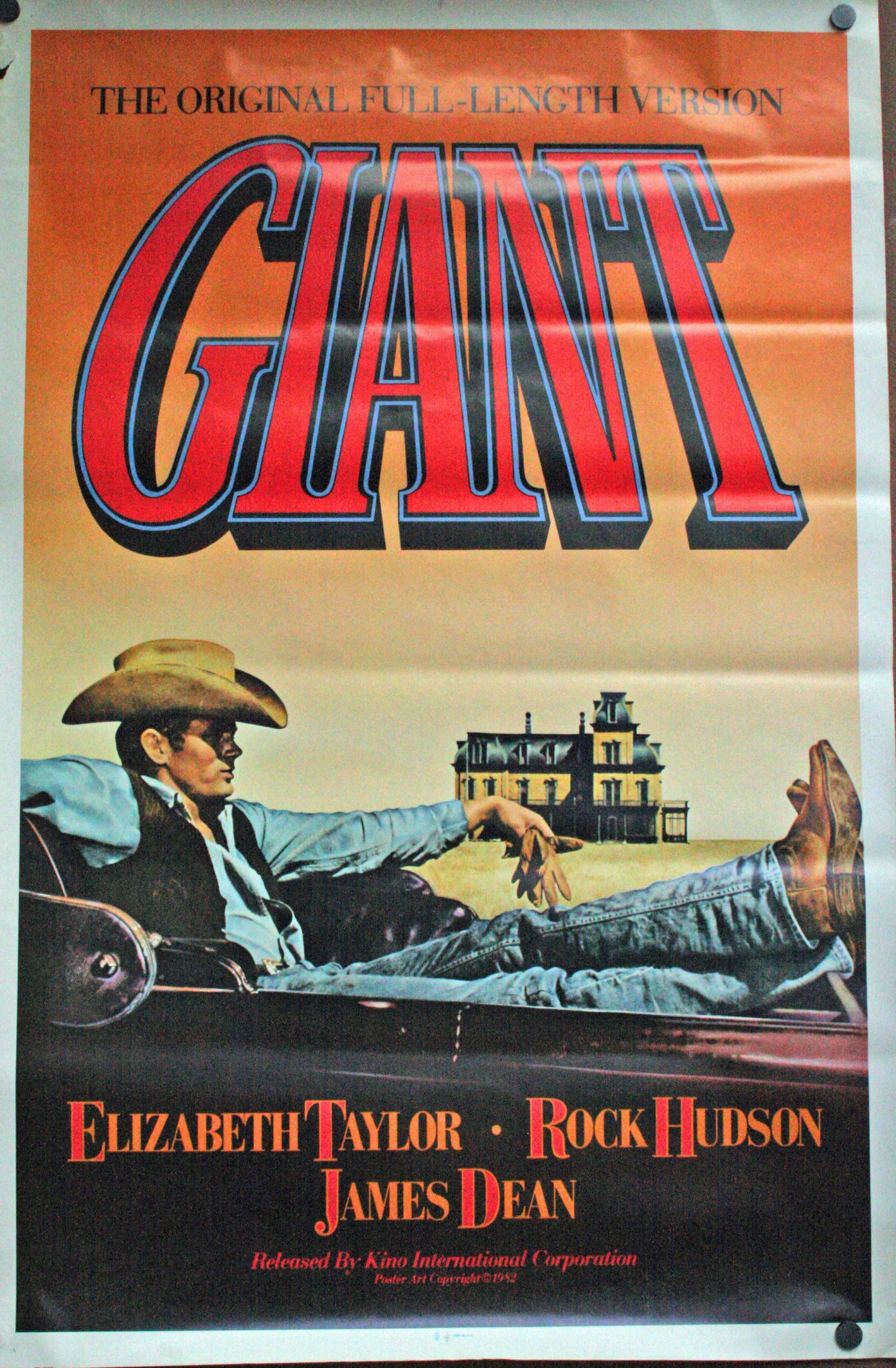Giant movie posters on sale