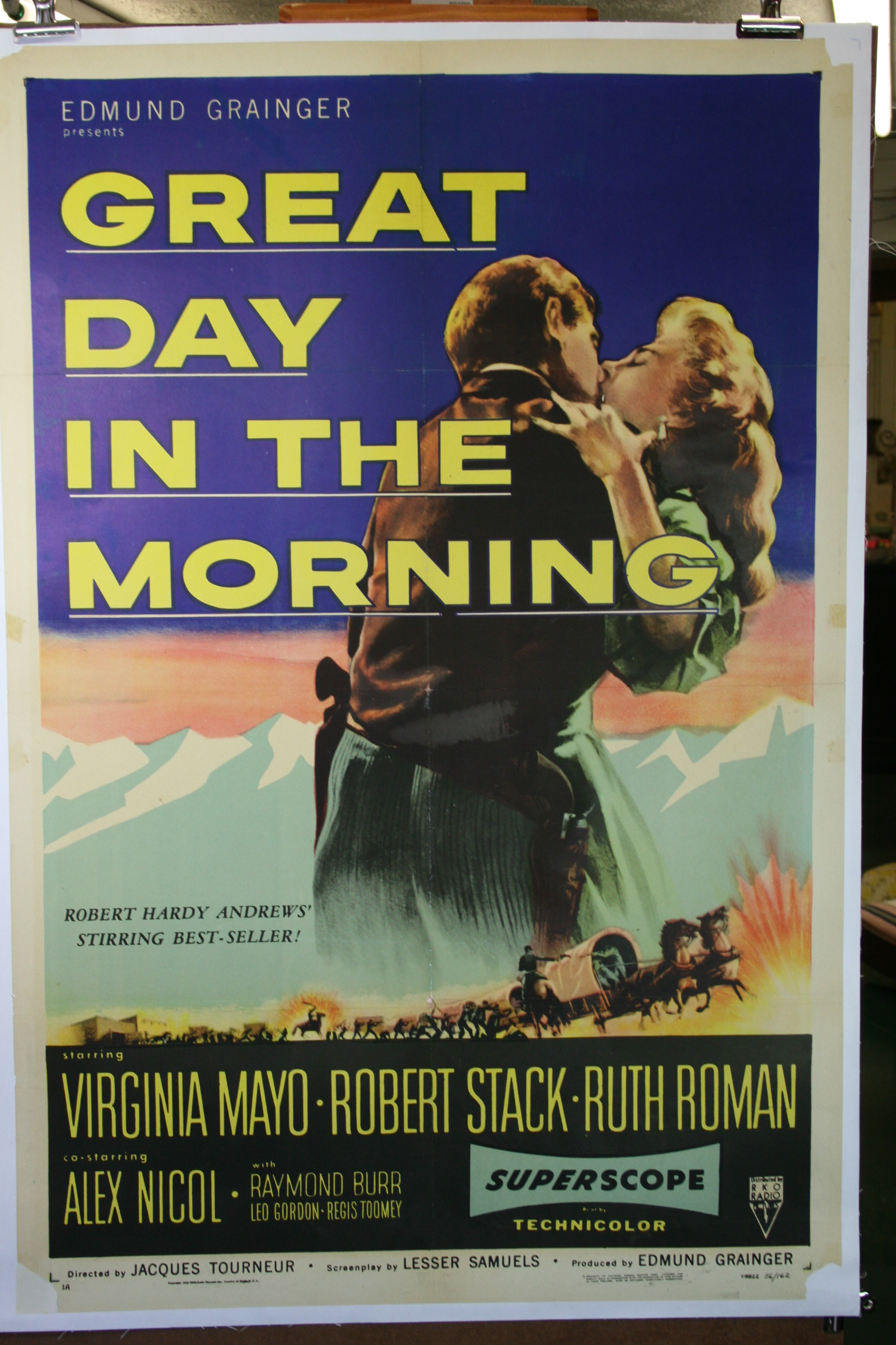 James Western Star >> GREAT DAY IN THE MORNING, Original western poster