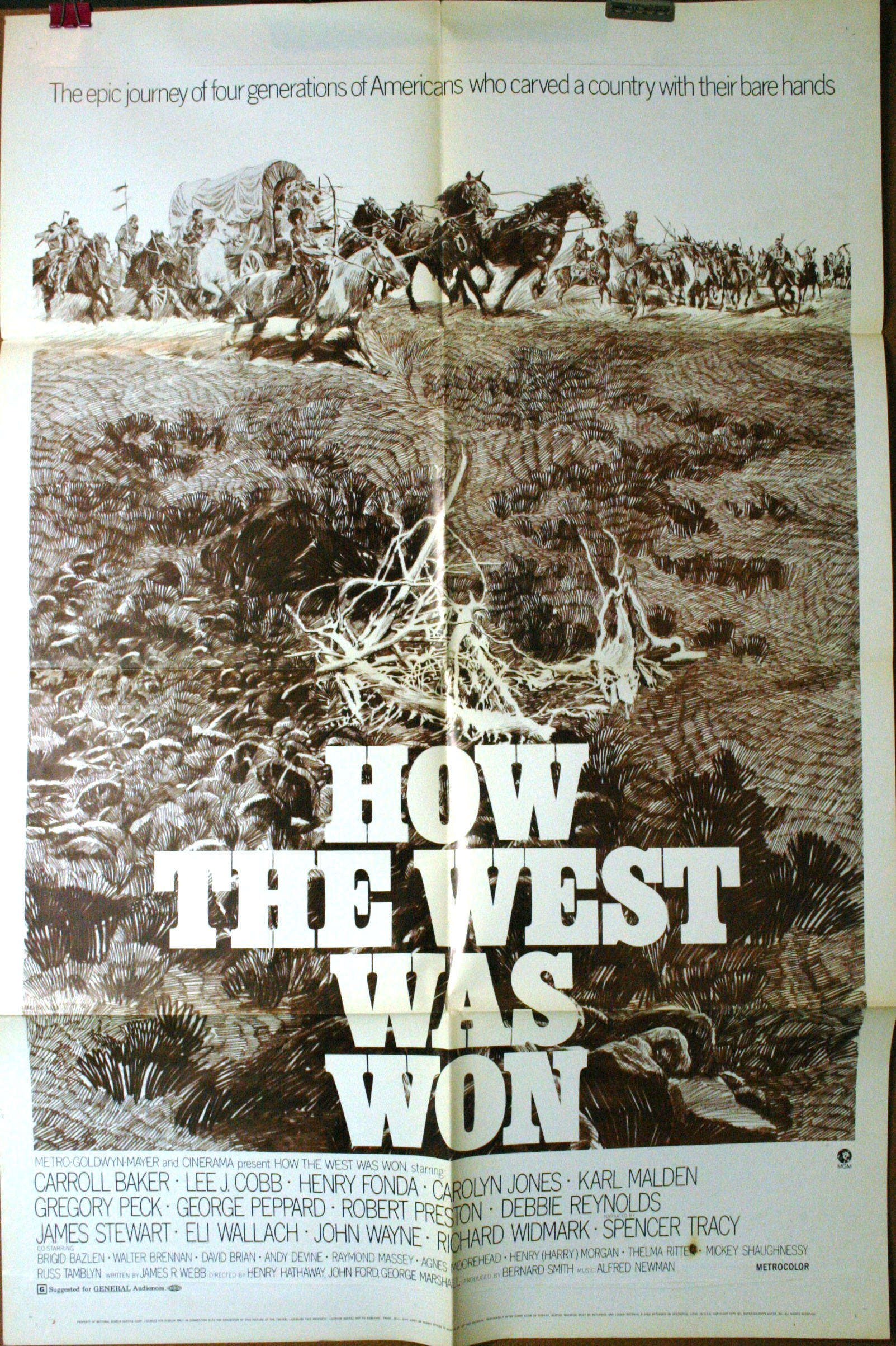 How The West Was Won 1970 Reissue