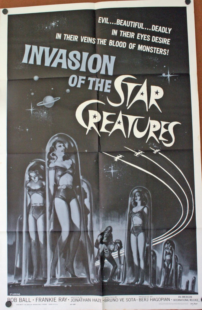 Invasion of the star creatures JMP