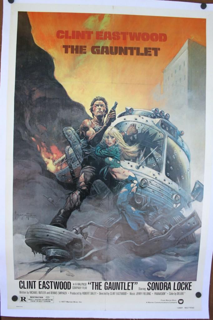 The Gauntlet Original Clint Eastwood Poster