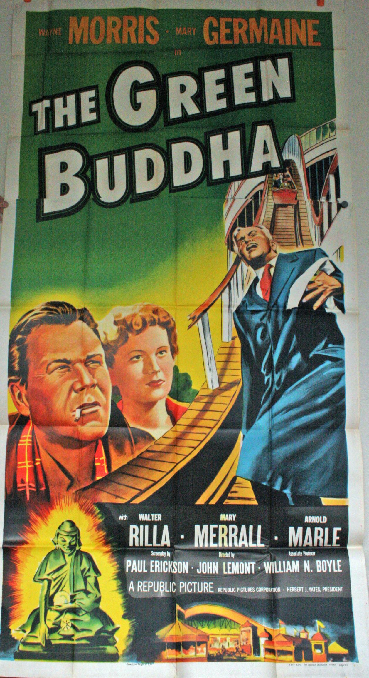 The Green Buddha 3 Sheet JMP