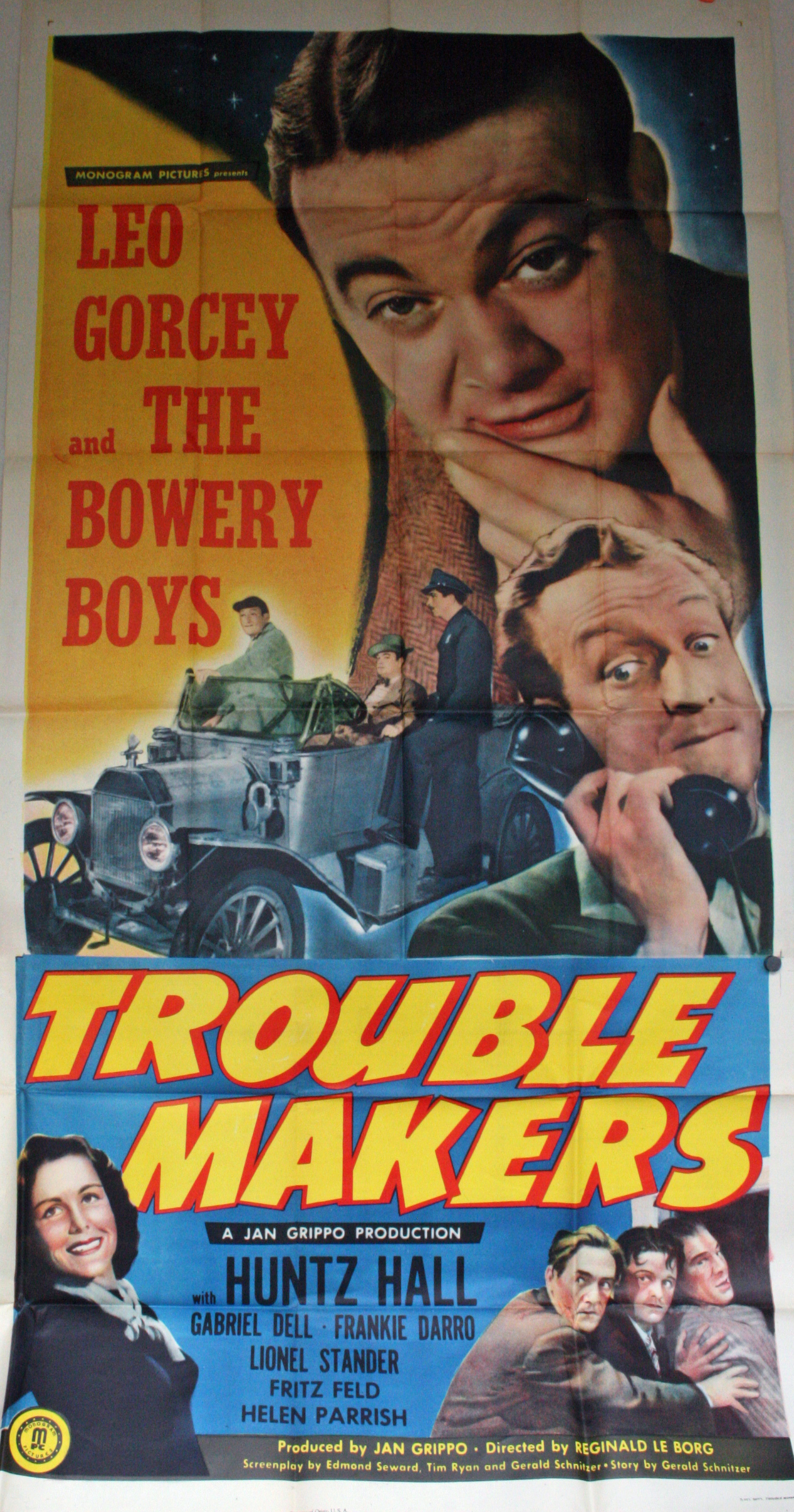 Trouble Makers 3 Sheet