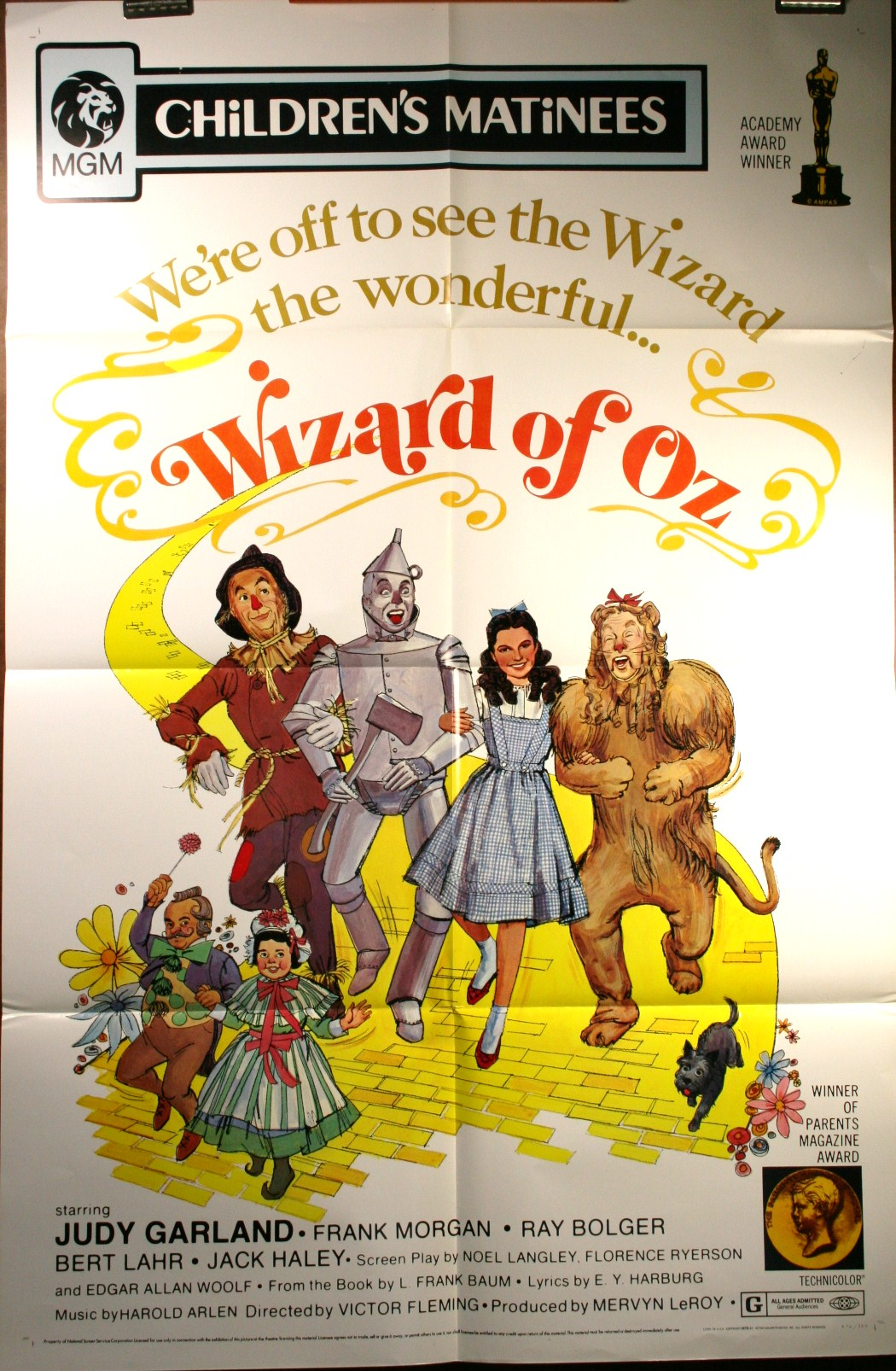 a description of the fairy tales such as mervyn leroys production of the wizard of oz The making of a movie classic states that mervyn leroy was experience with the munchkinland oz/ the wizard of oz: an american fairy tale].