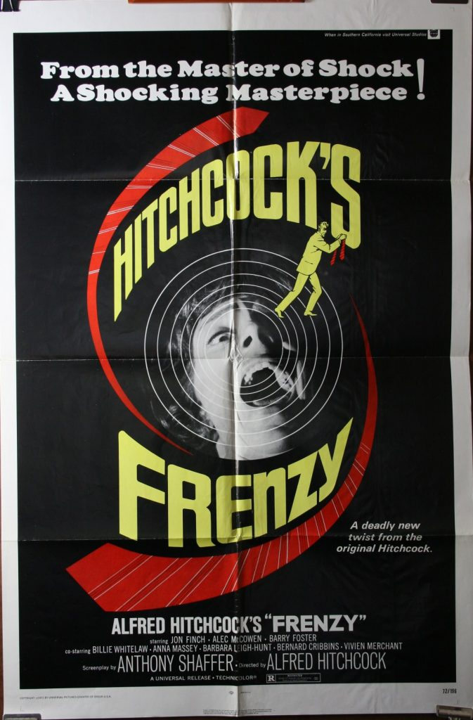 Frenzy Alfred Hitchcock Original Movie Poster