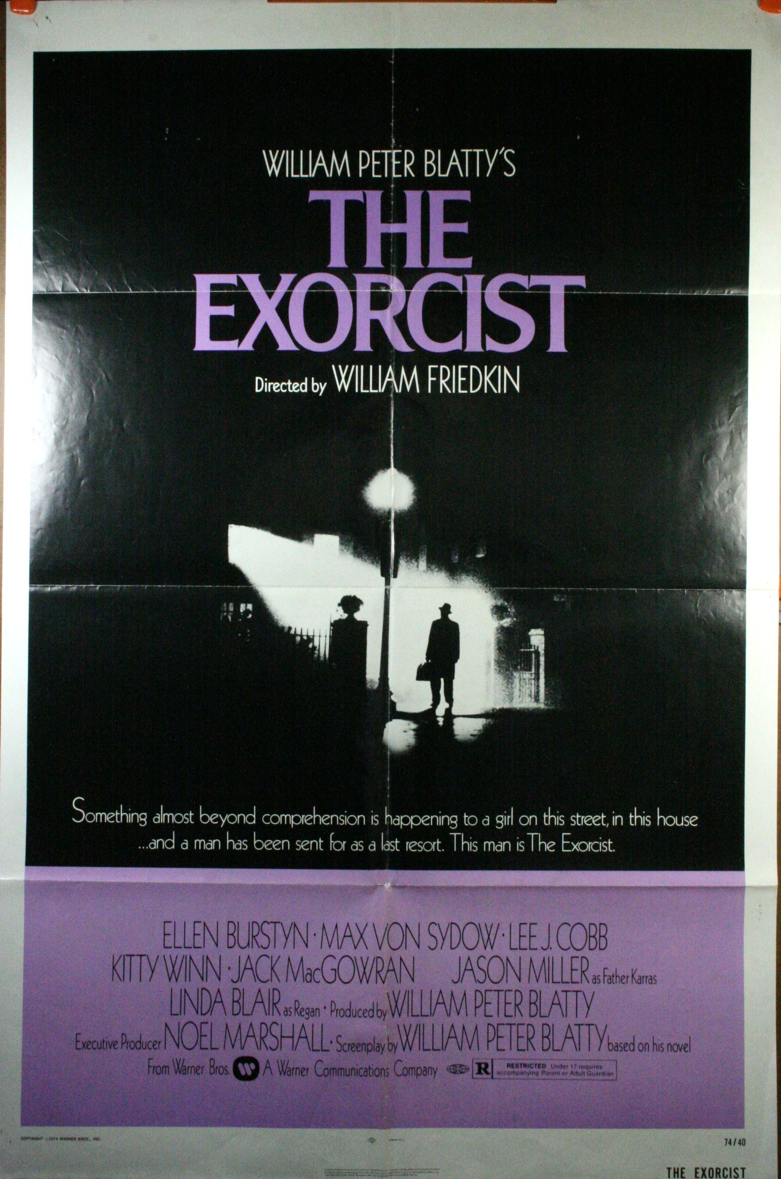 The Exorcist Original Theatrical Poster on Mexican Contemporary Style House