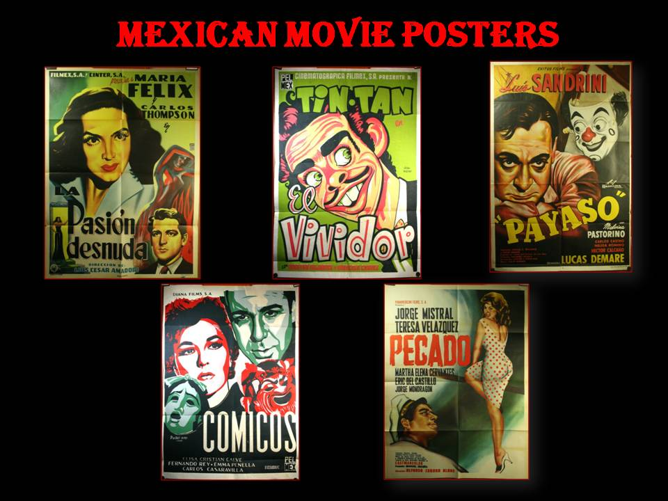 mexican film posters