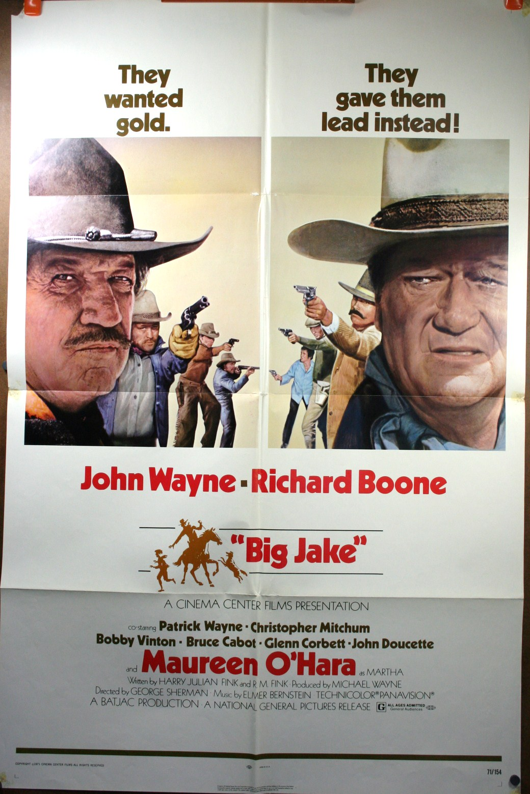 John wayne movie posters western