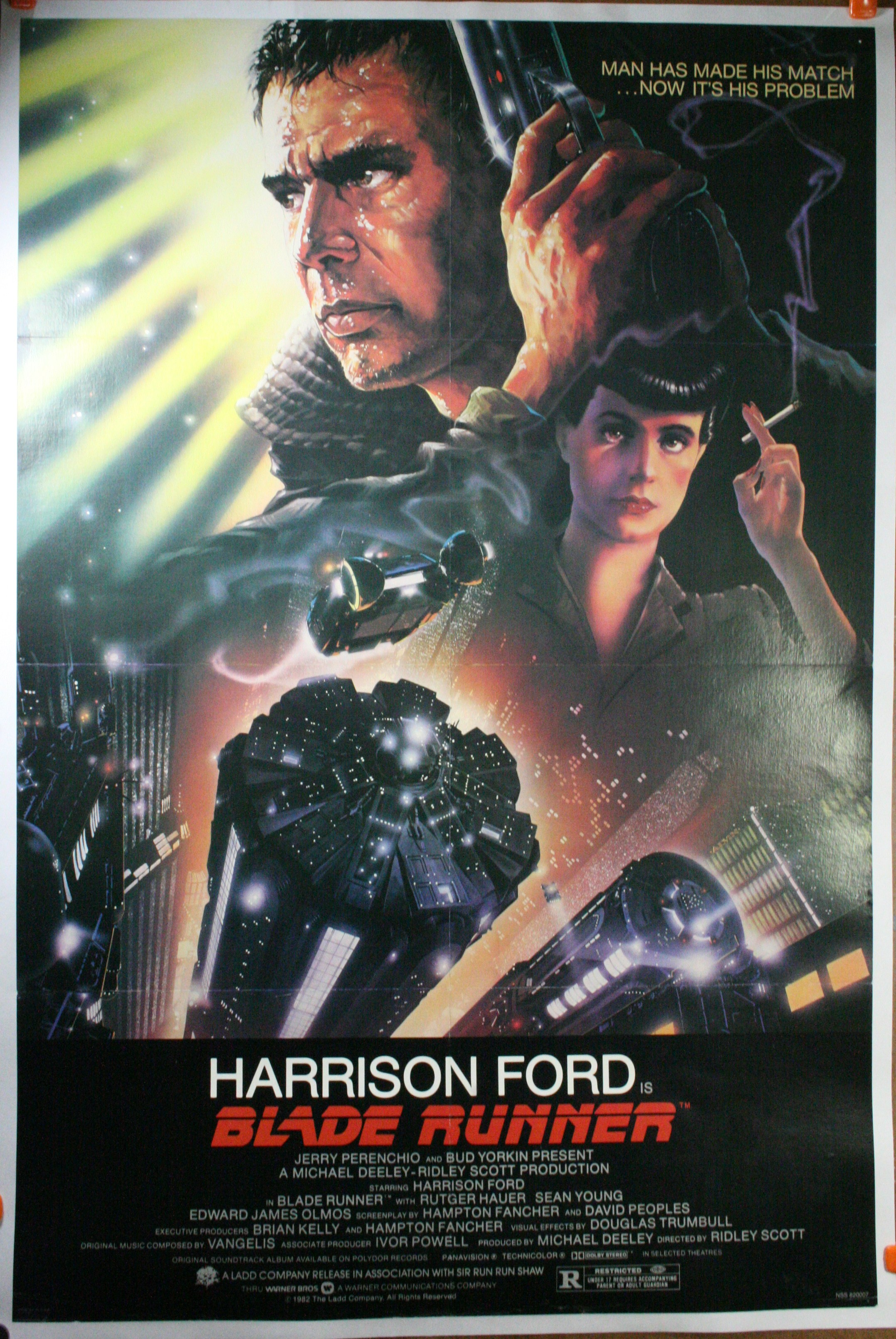 BLADE RUNNER, Original Vintage Film Poster - photo#4