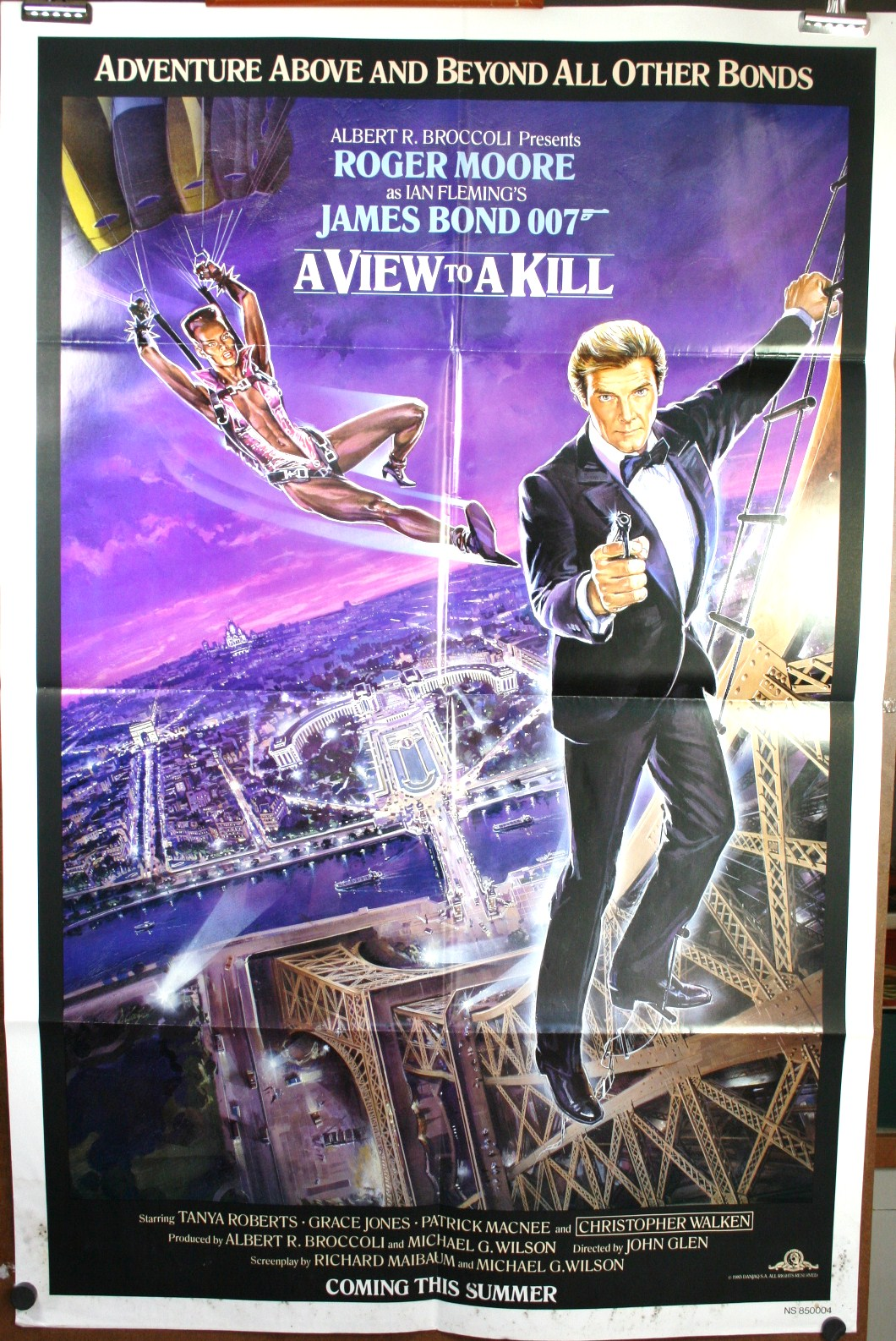 A View From The Beach 17 Will Get You 20: James Bond Film Poster