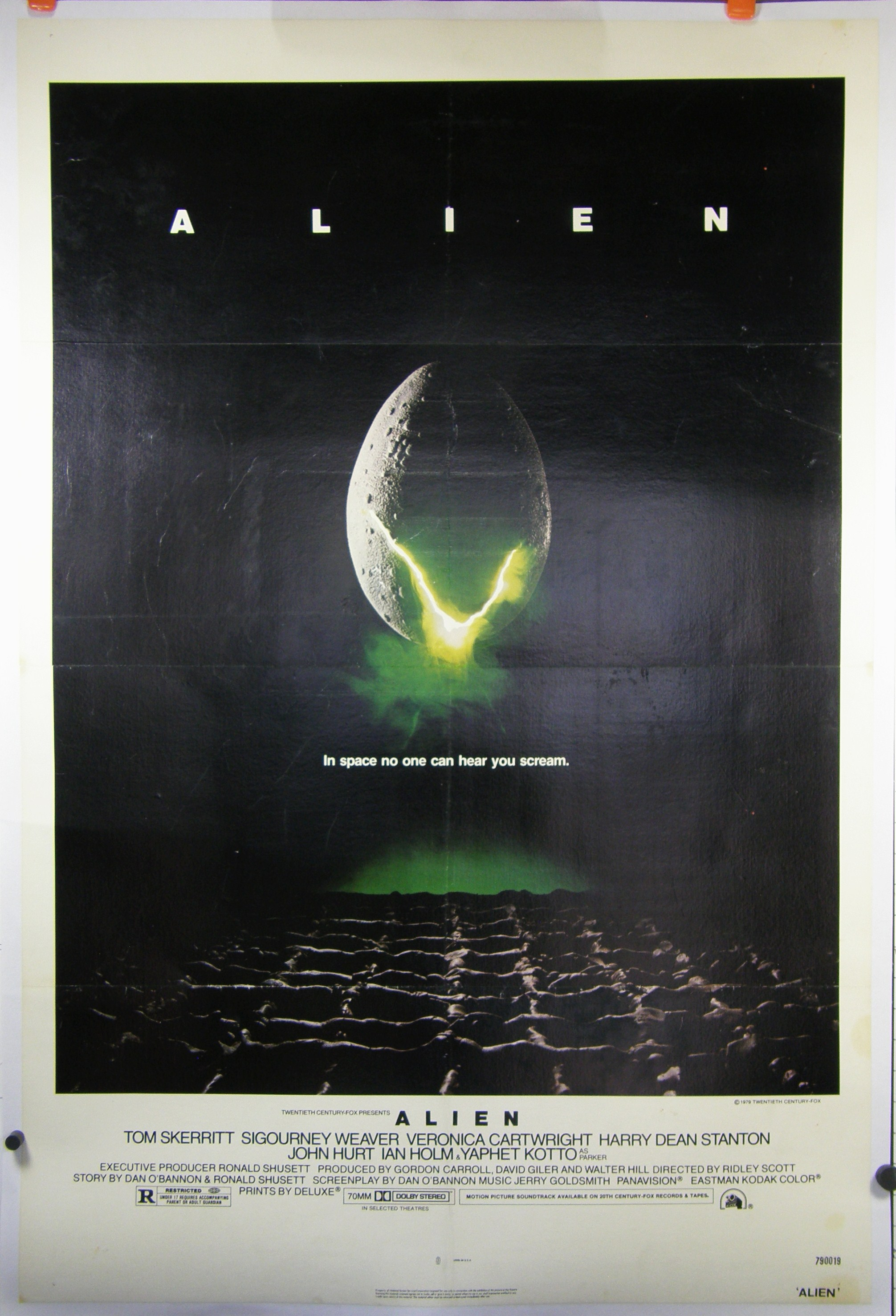 alien movie poster original - photo #5
