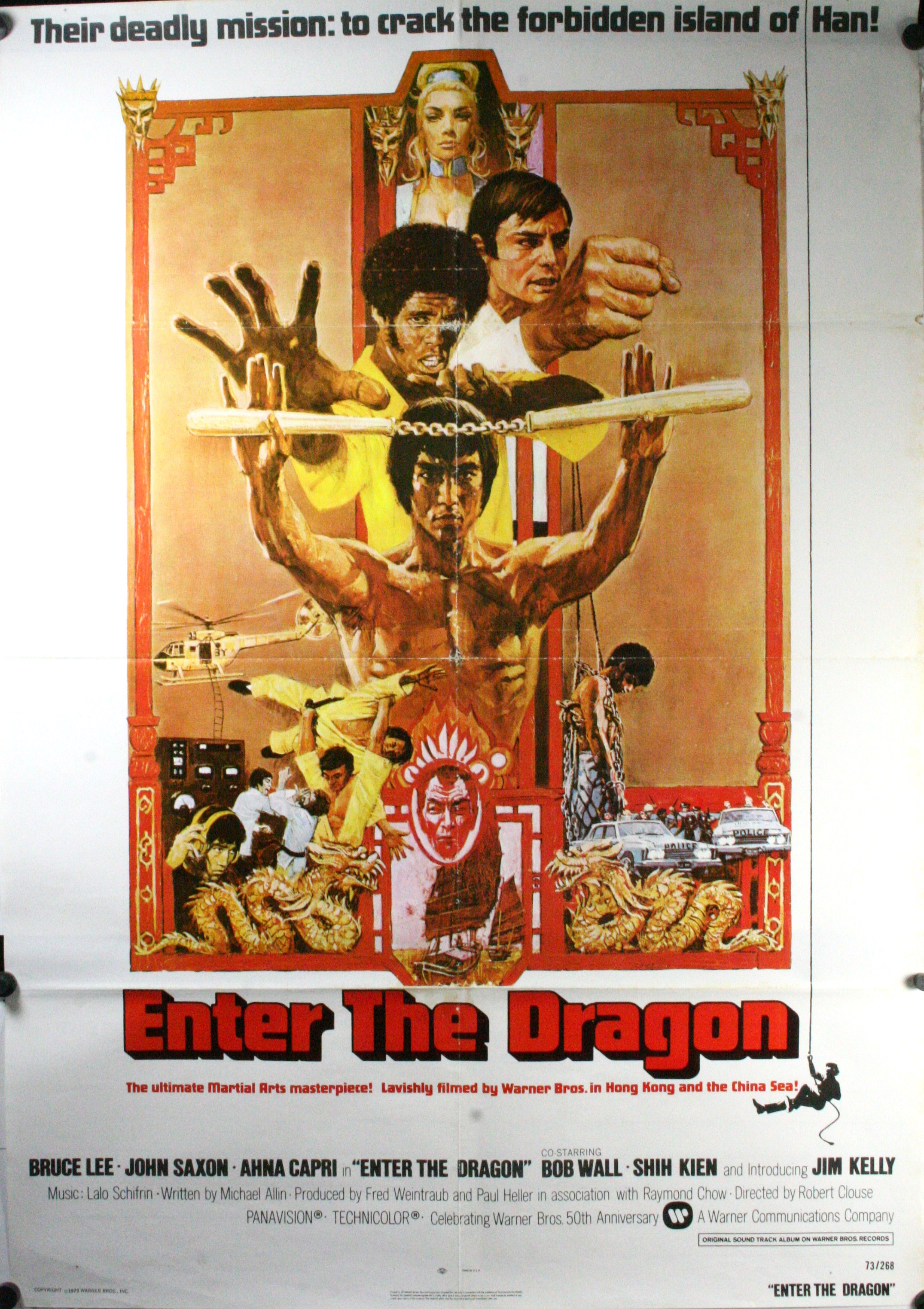 Bruce lee movie posters