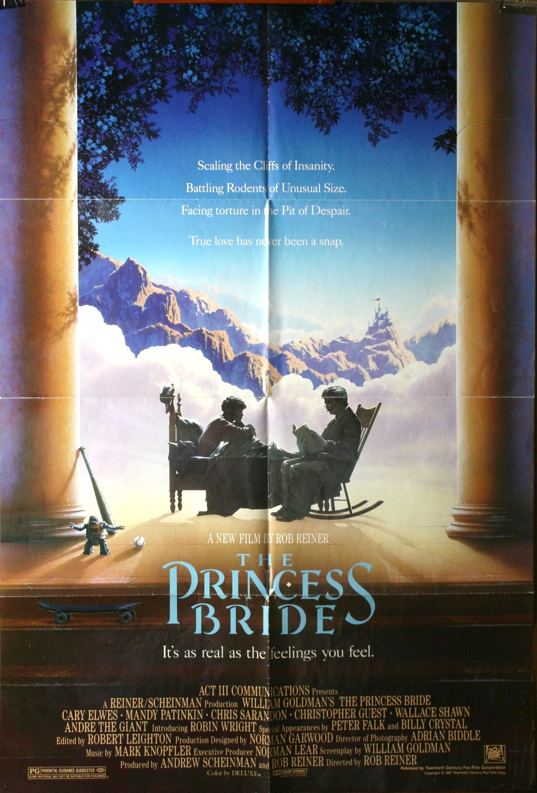 Princess bride combines action adventure