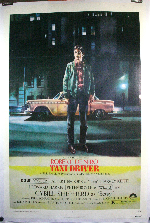 TAXI DRIVER, Robert De Niro, Harvey Keitel, Martin