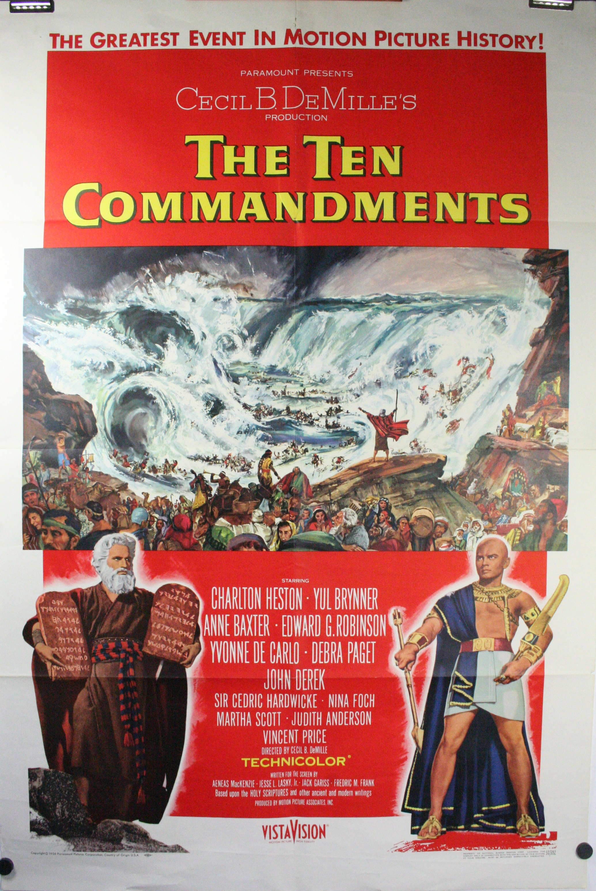 essay ten commandments movie Plugged in exists to shine a light on the world of popular entertainment while giving you and your family the essential tools wrapping the film's positive themes into its spiritual ones leads us to the fact that reverence and spirituality is a big deal in the ten commandments.
