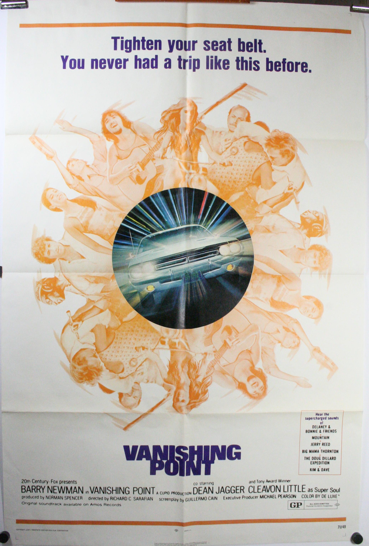 Vanishing Point Original Dodge Challenger Poster