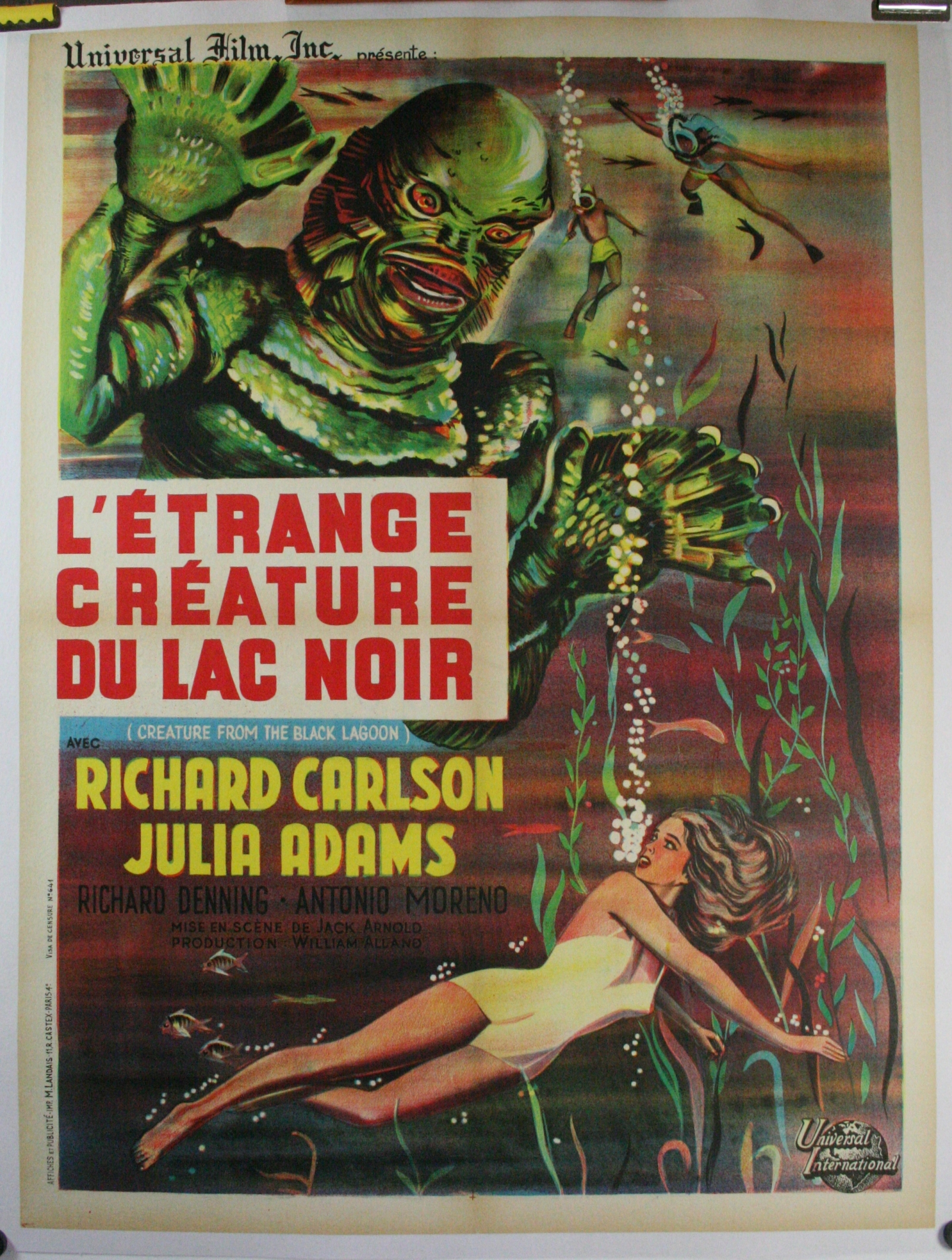 Creature from the black lagoon LB-C75