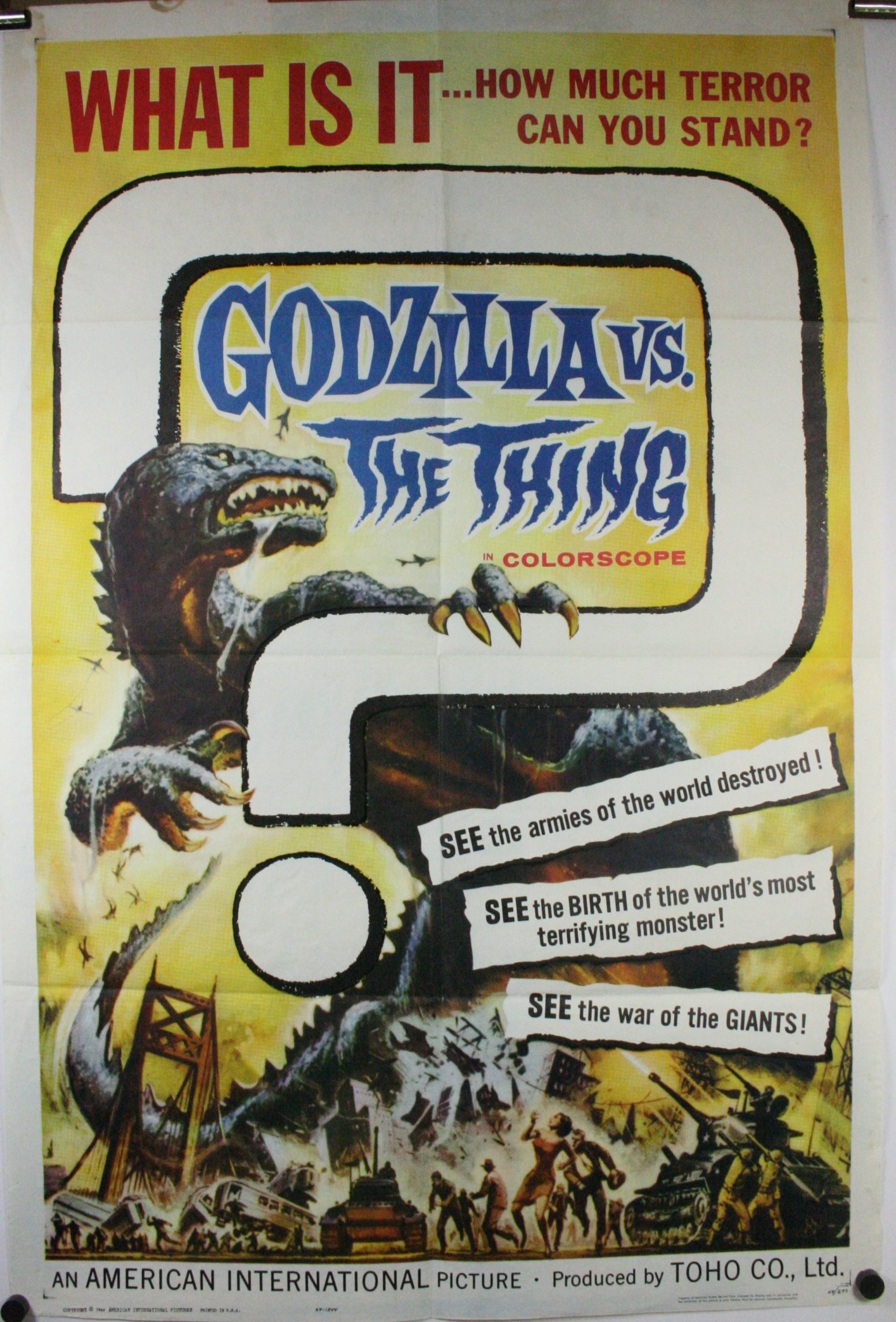 Godzilla vs the thing 2031-C75