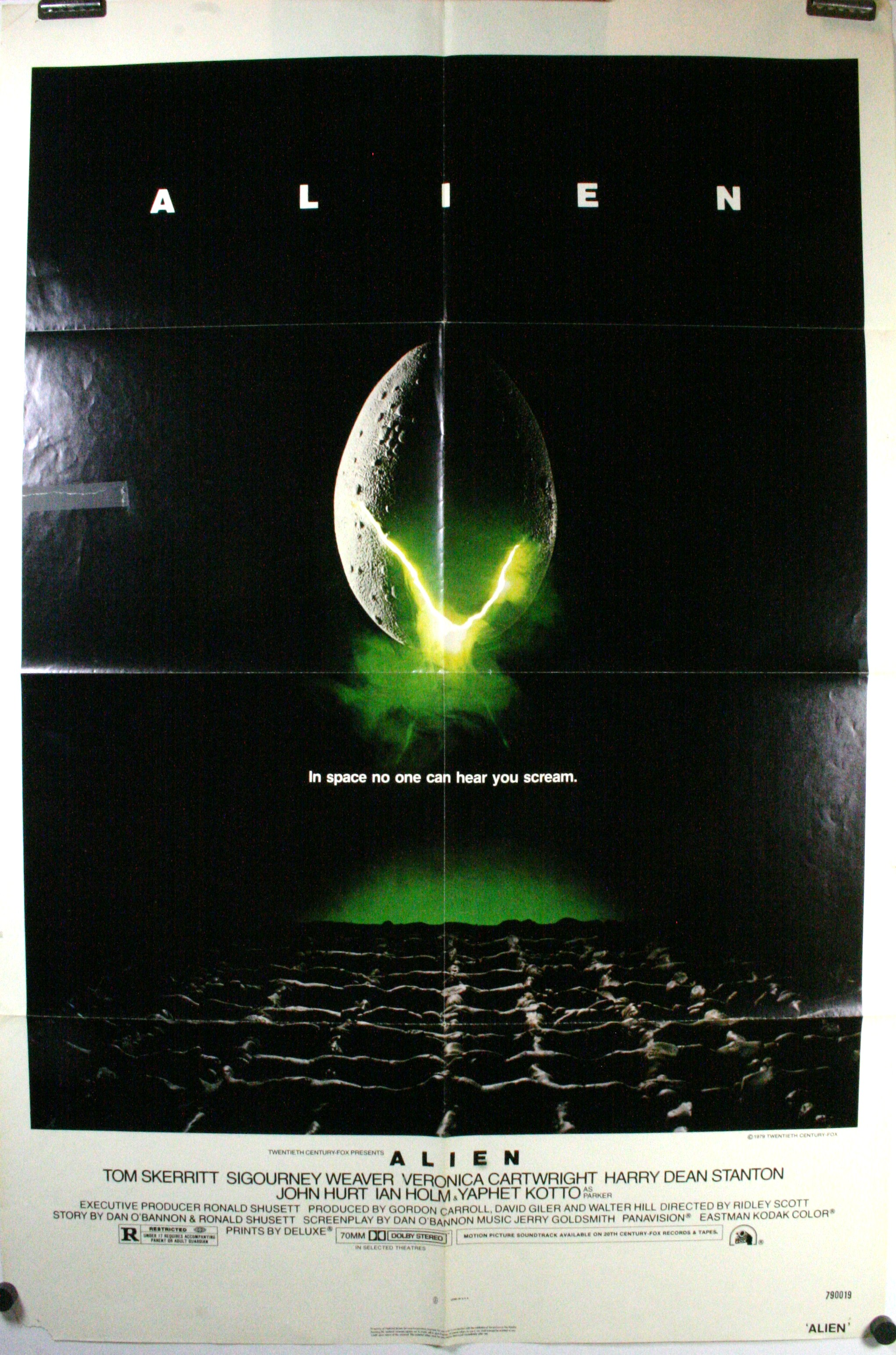 alien movie poster original - photo #2