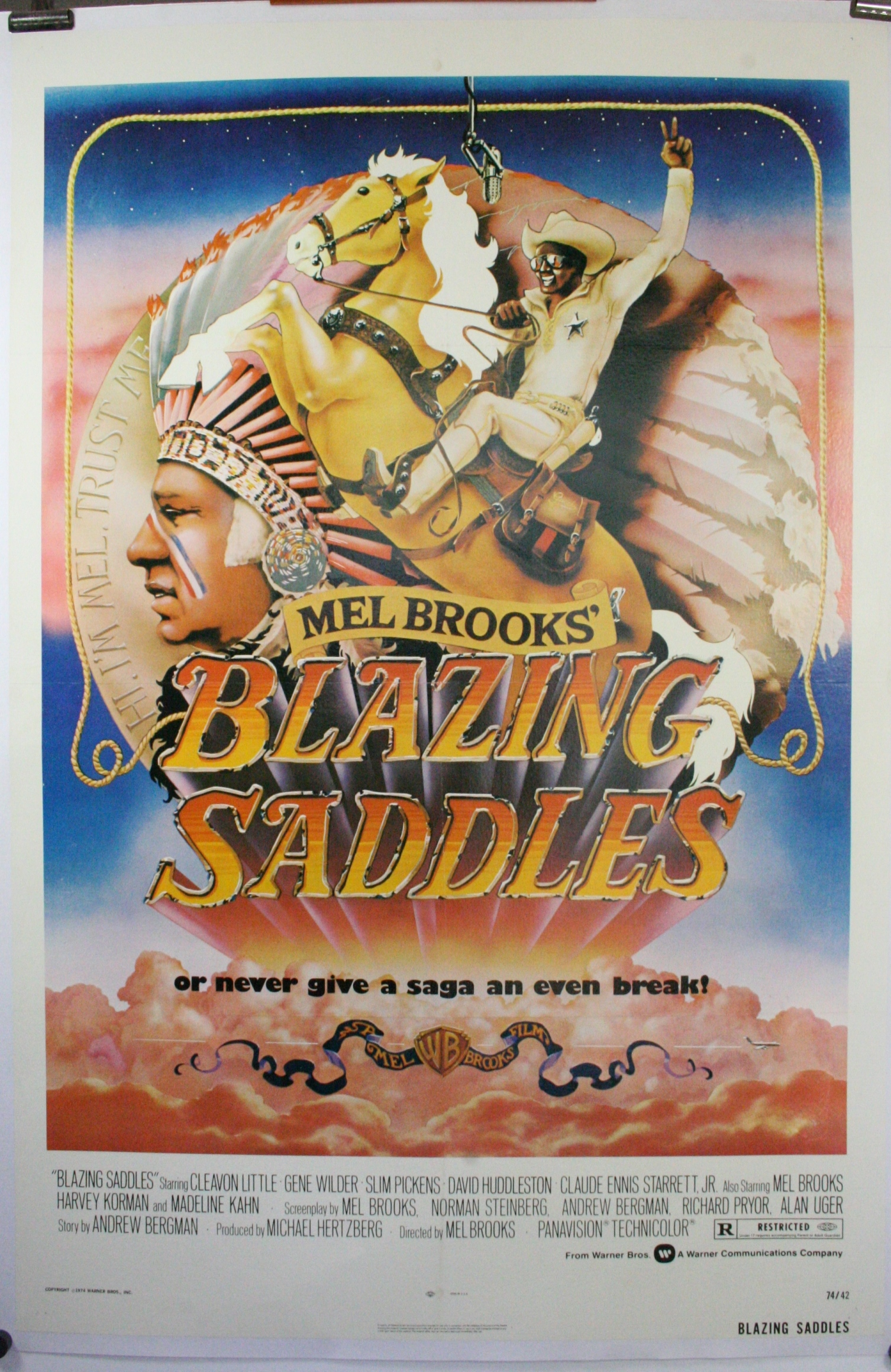 BLAZING SADDLES 1580