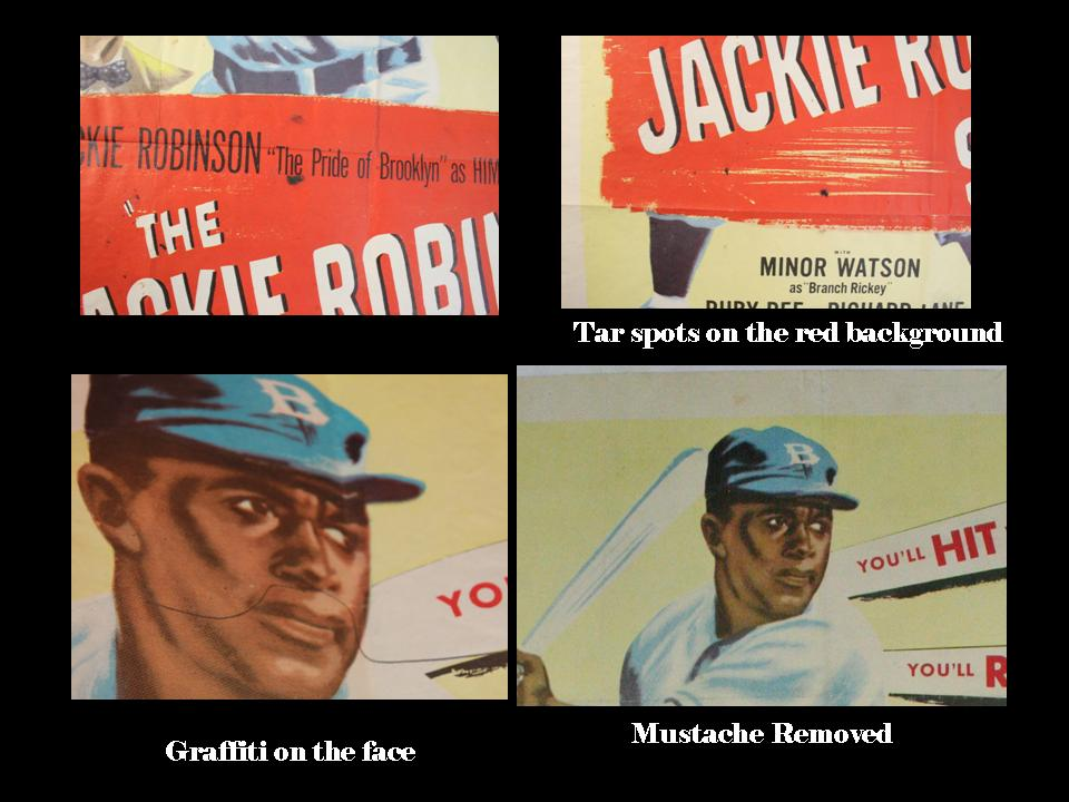 Jackie Robinson detail