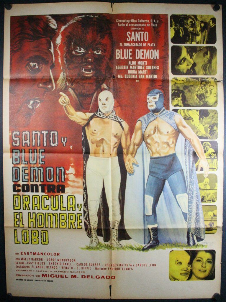 Santo &  Blue Demon VS Dracula