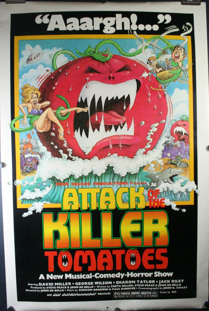 Attack Killer Tomatoes