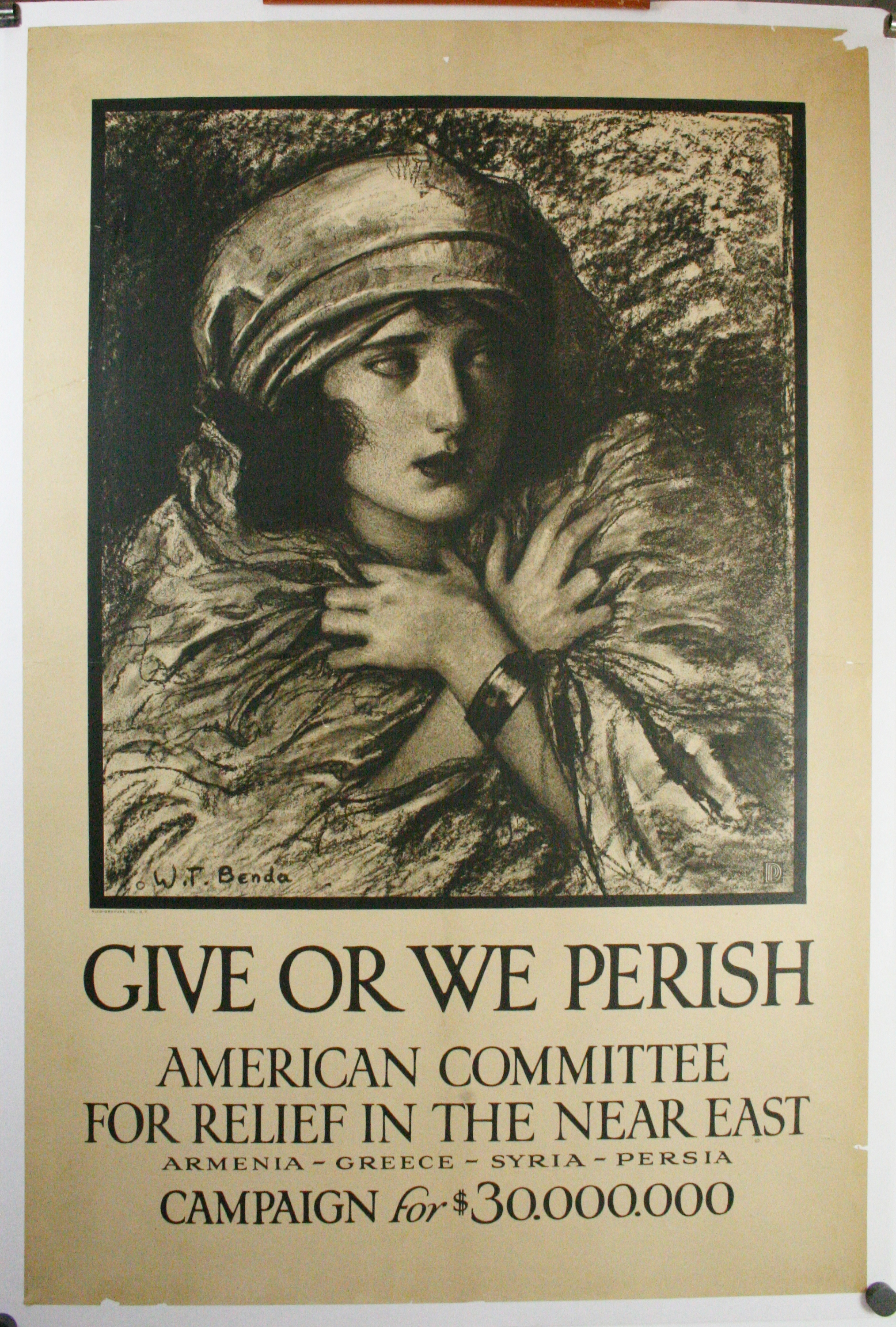 Give or we perish
