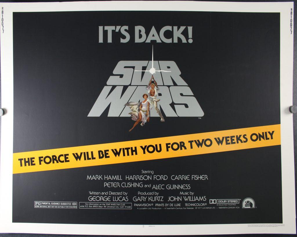 Star Wars Half Sheet