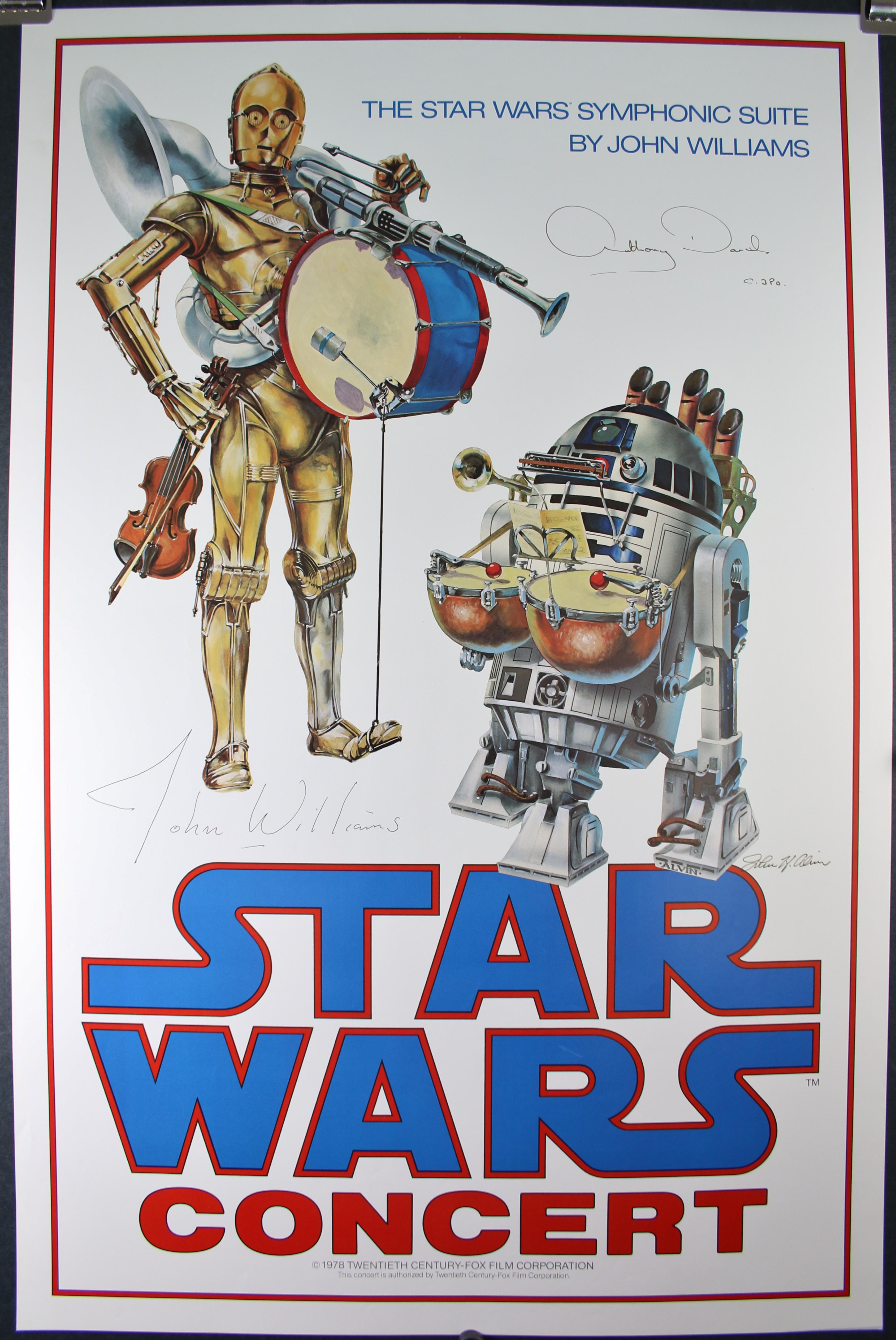 Star Wars Concert Poster 3867