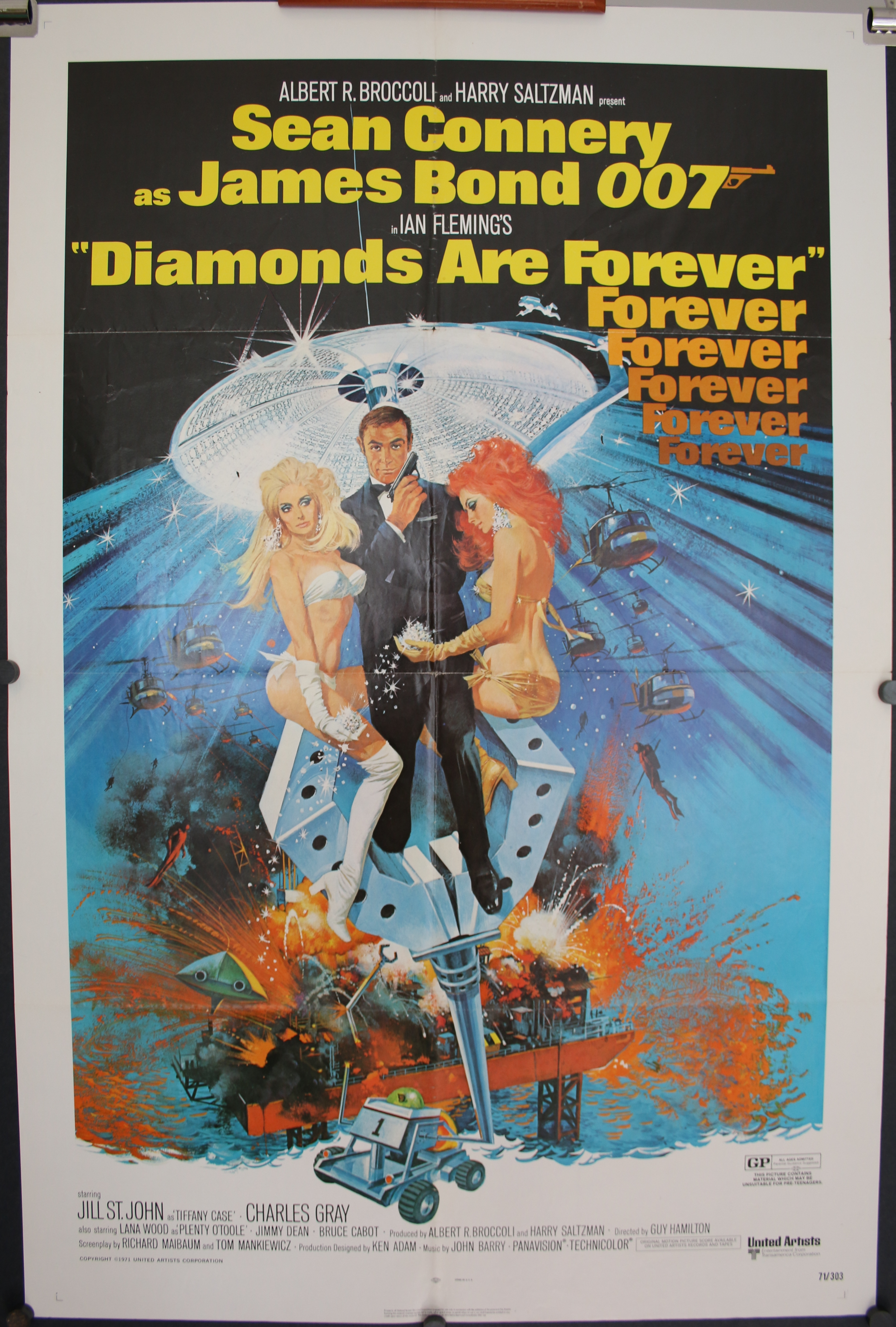 Ian Fleming`S Diamonds Are Forever [1971]