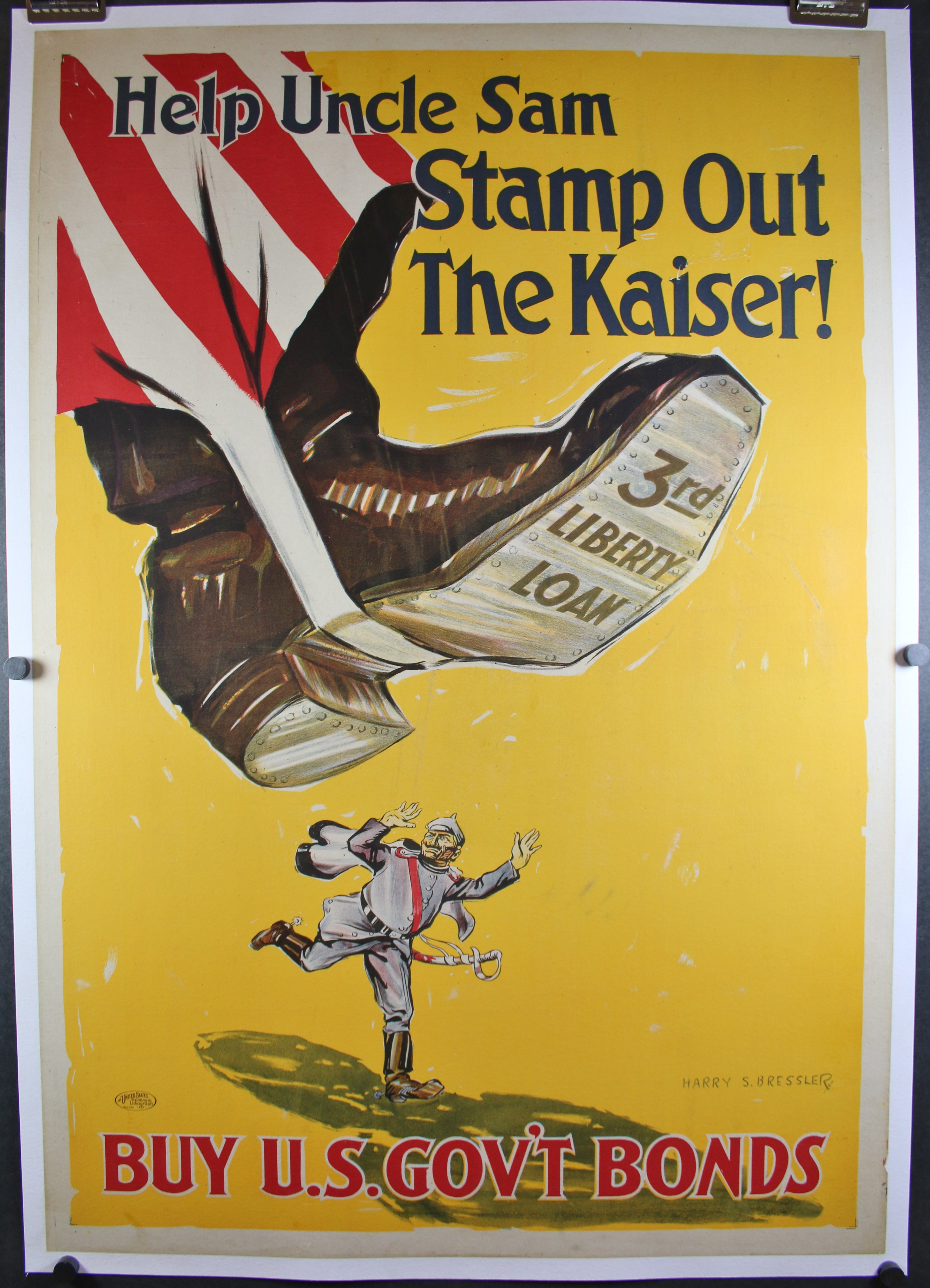 Help Uncle Sam Stamp Out the Kaiser 4640LB