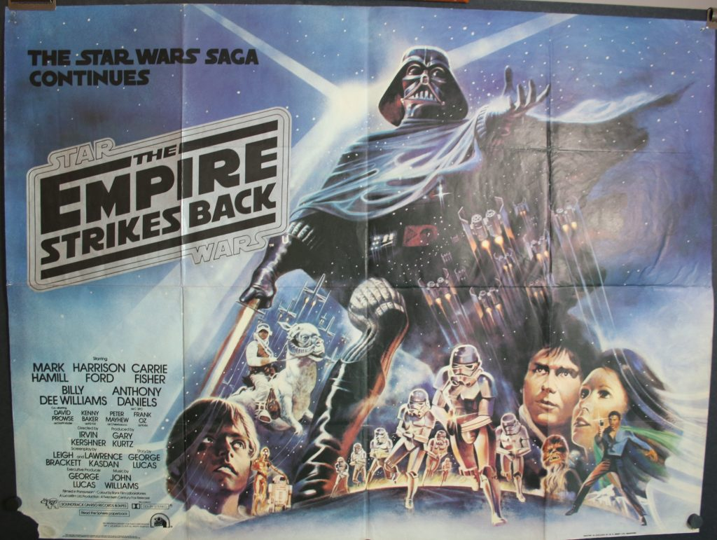 Empire Strikes Back Quad