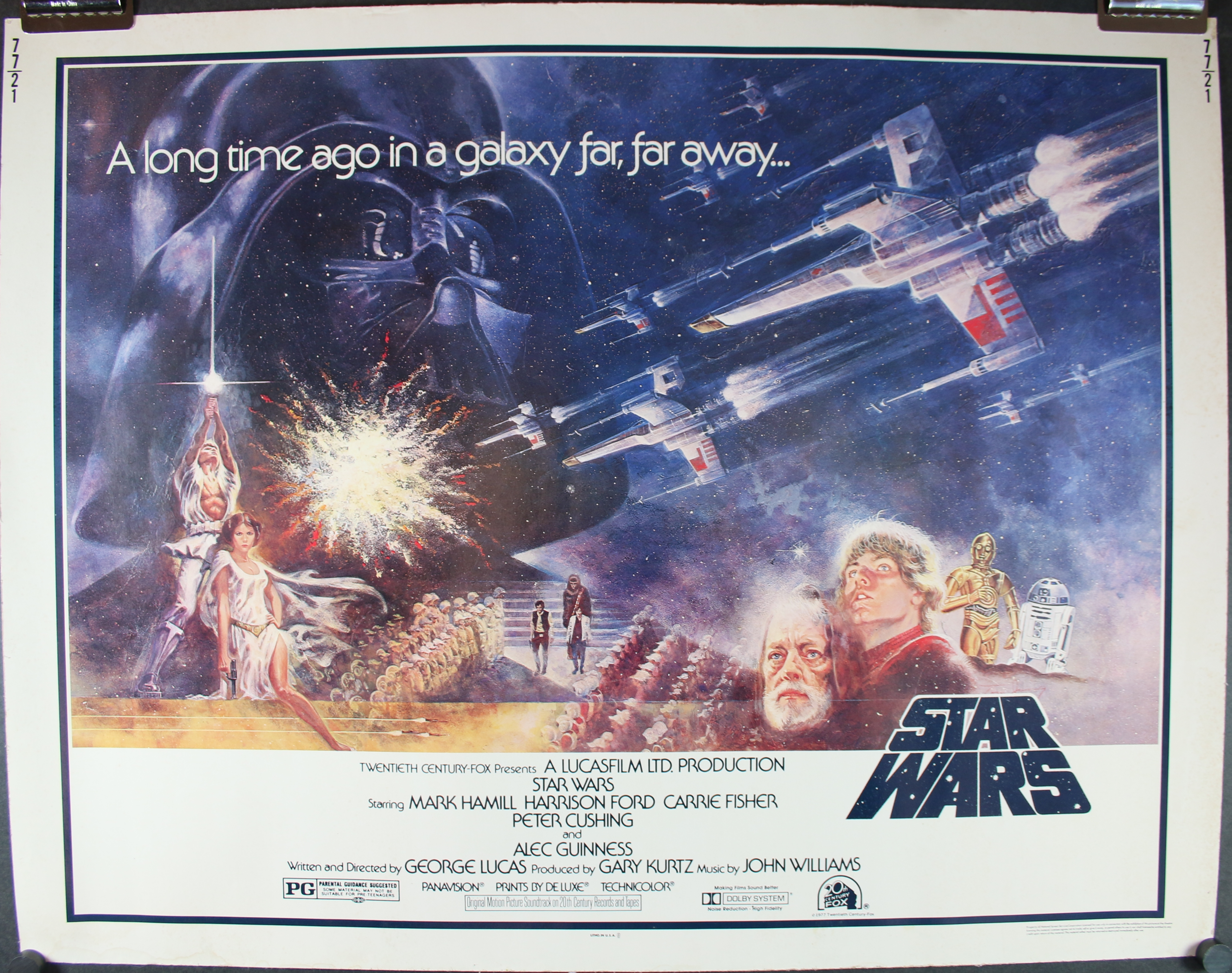 Star wars new hope movie poster