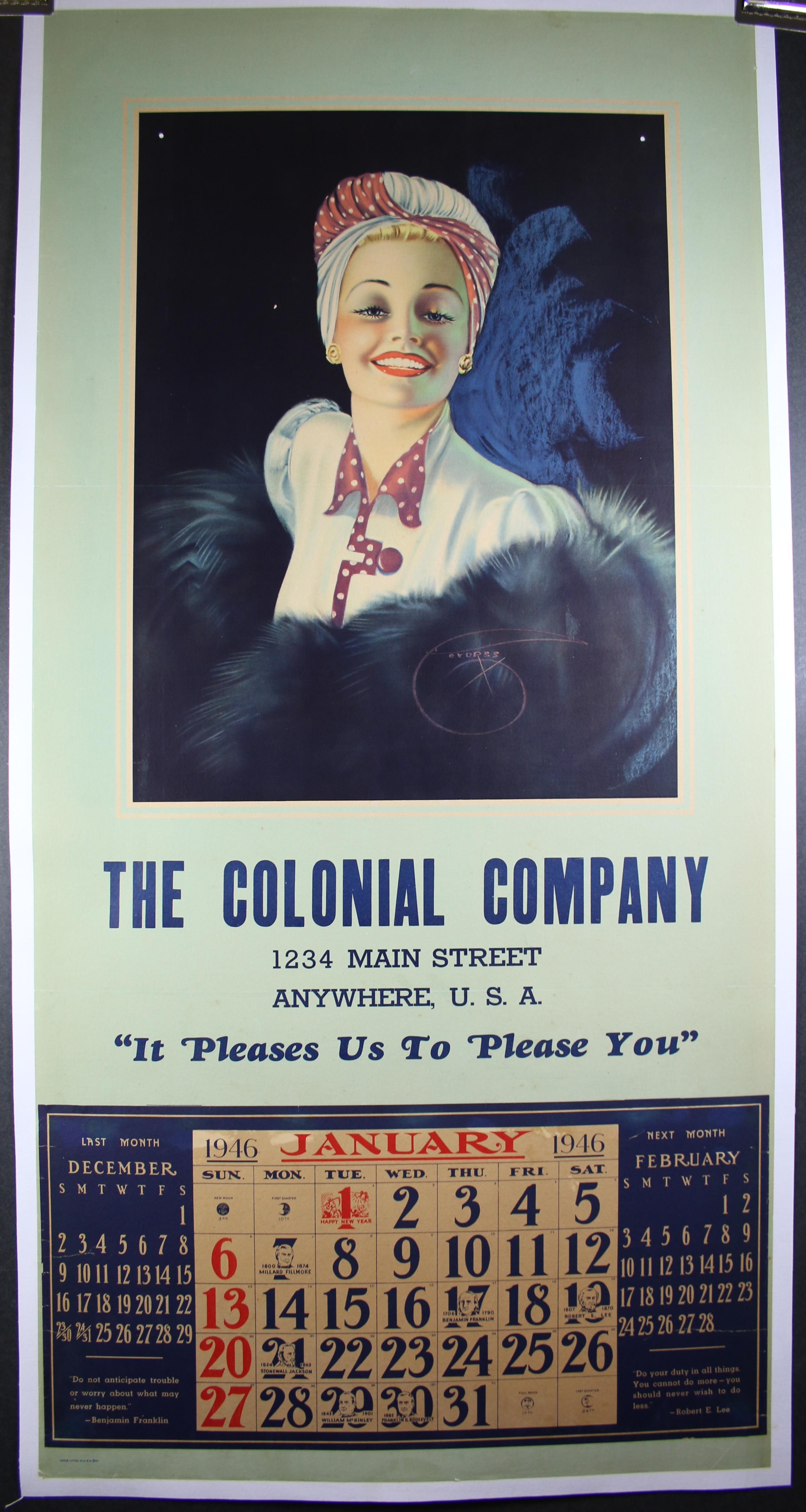 Colonial Company 4628LB