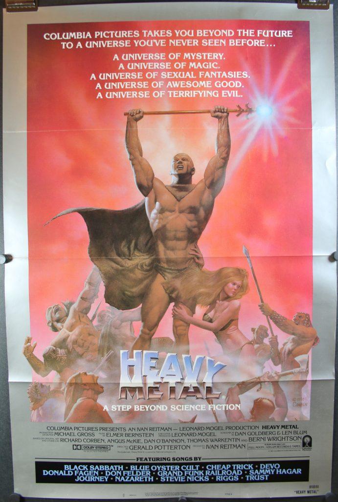 Metal movie poster always