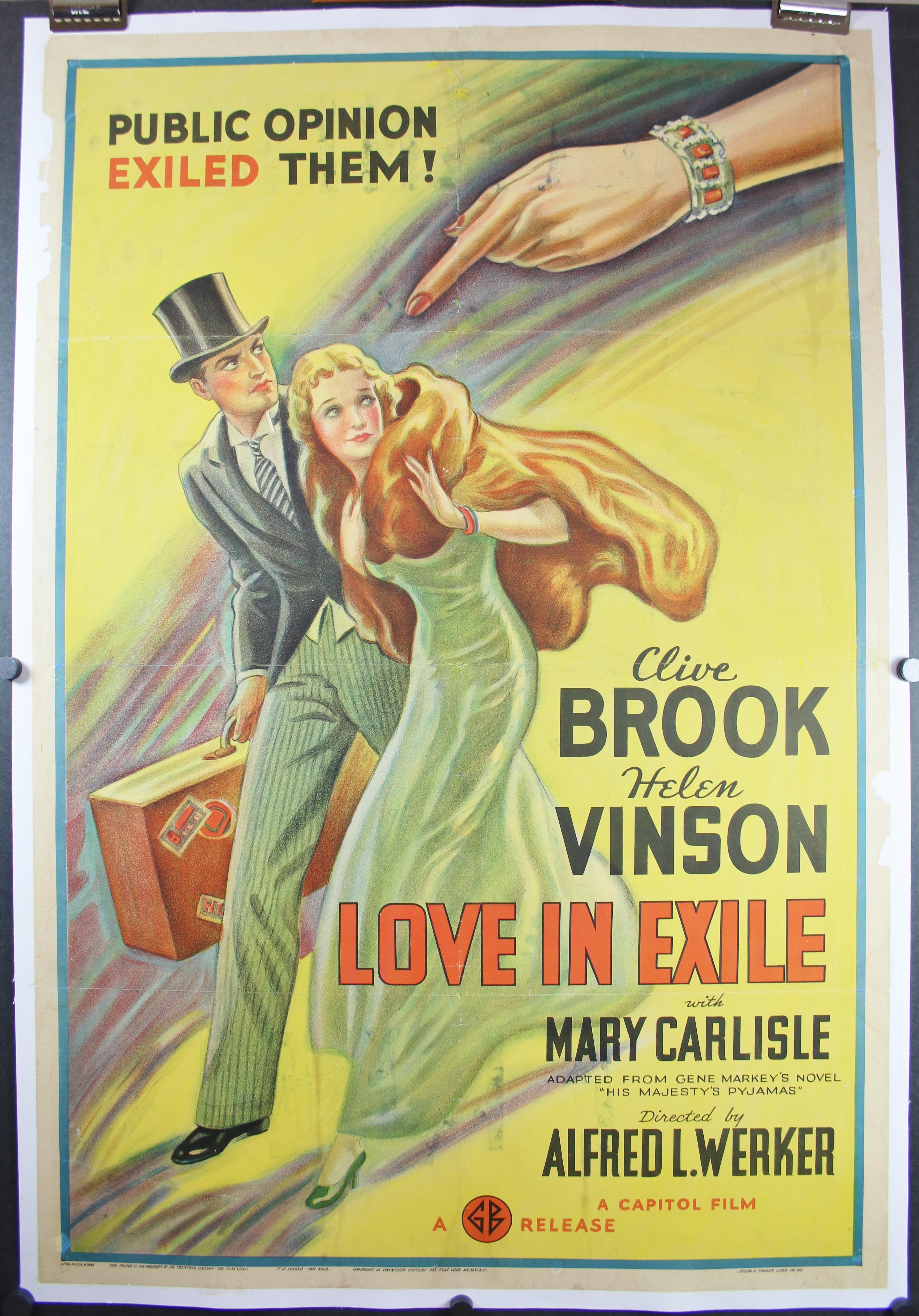 Love in Exile 4746LB
