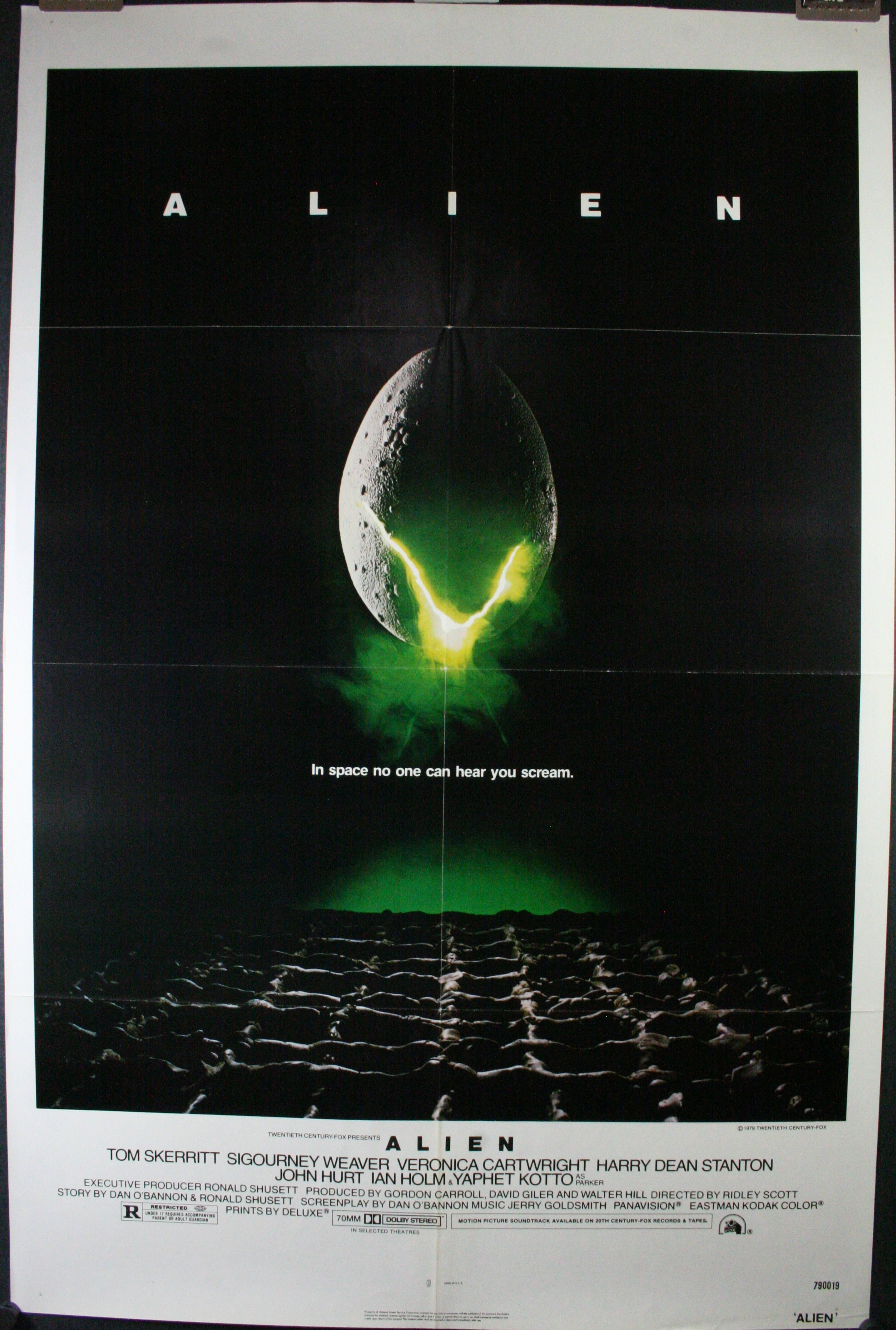 alien movie poster original - photo #32