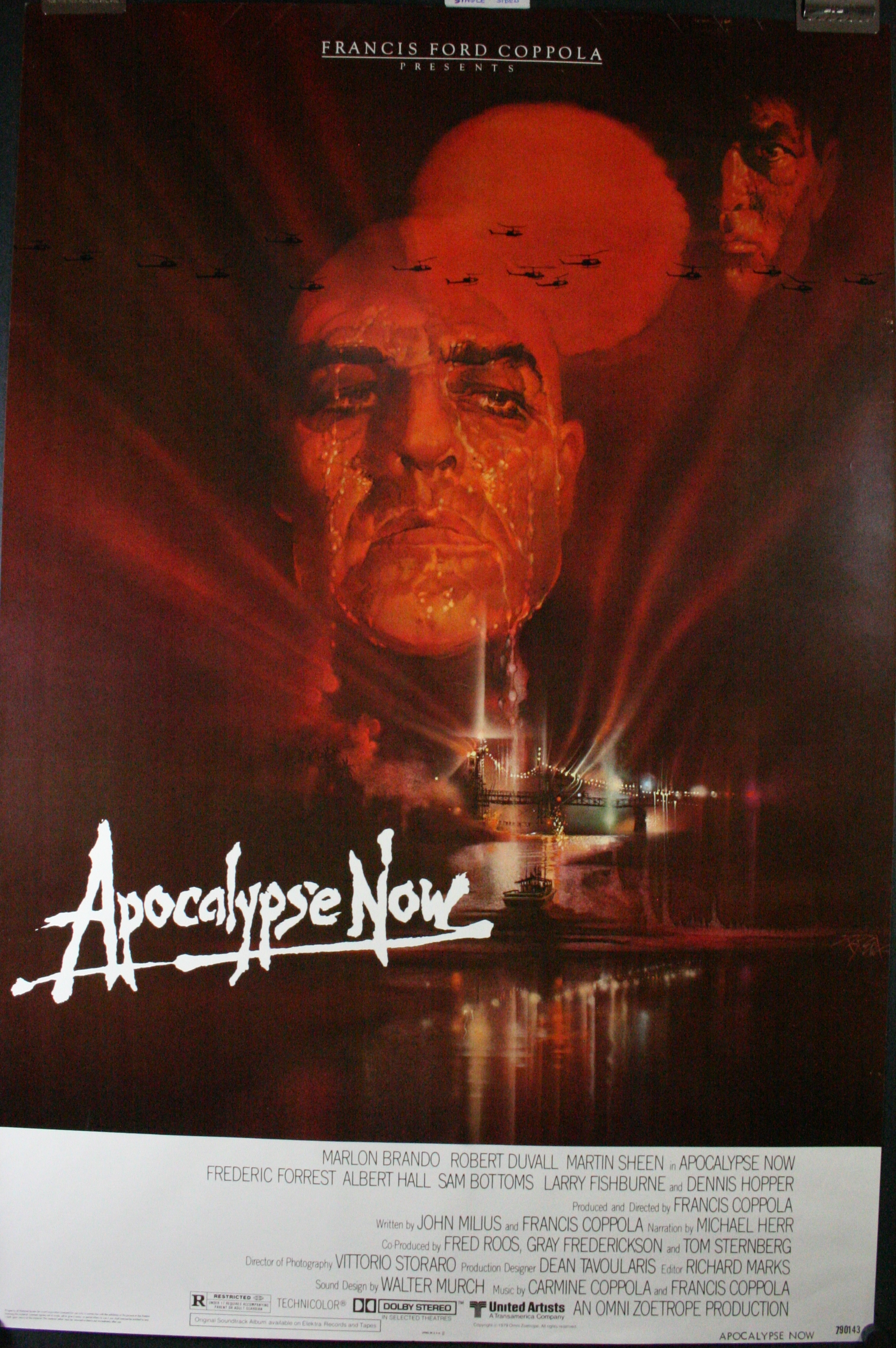 apocalypse now original coppola movie poster 4sale