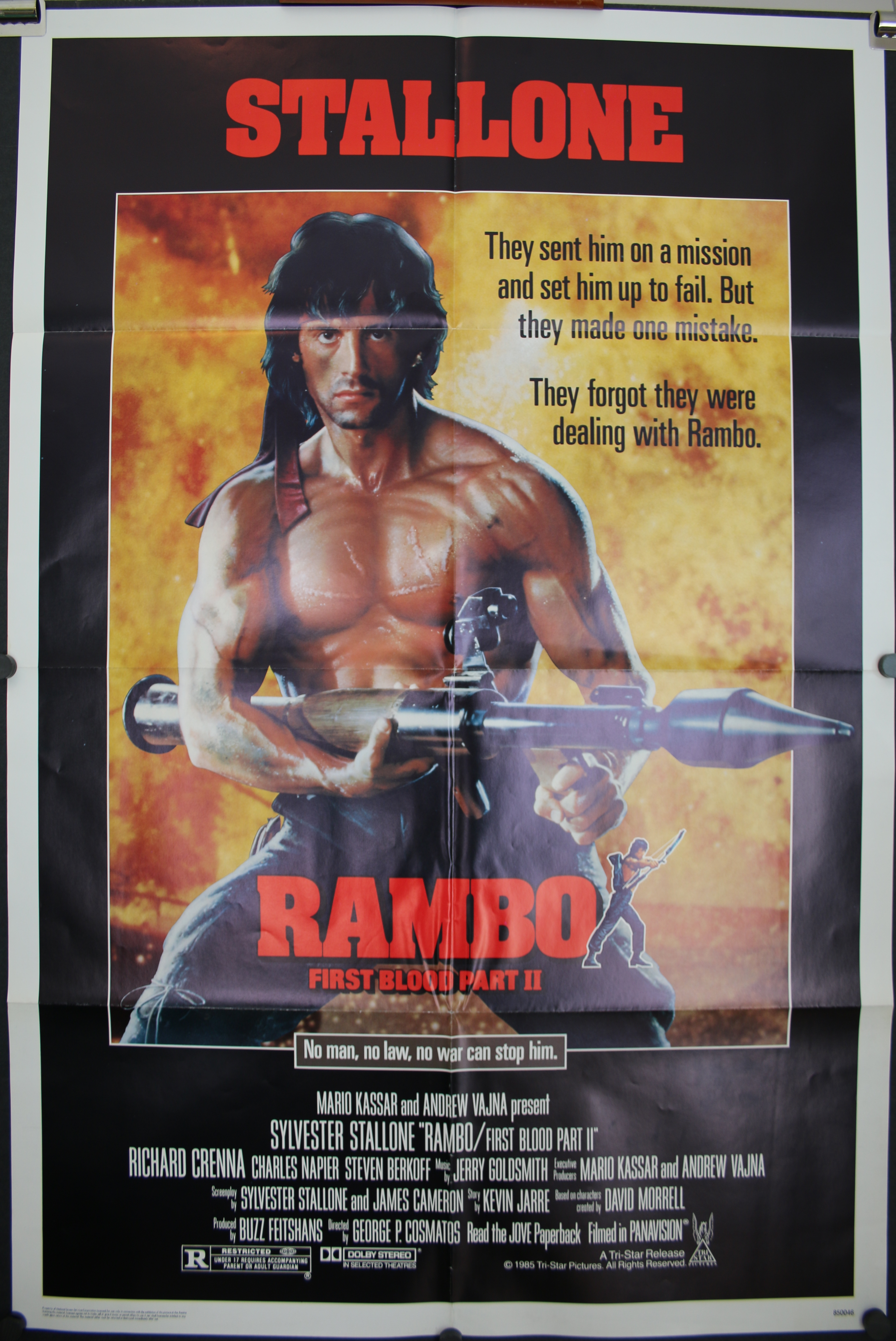 Sylvester Stallone movie posters at movie poster warehouse