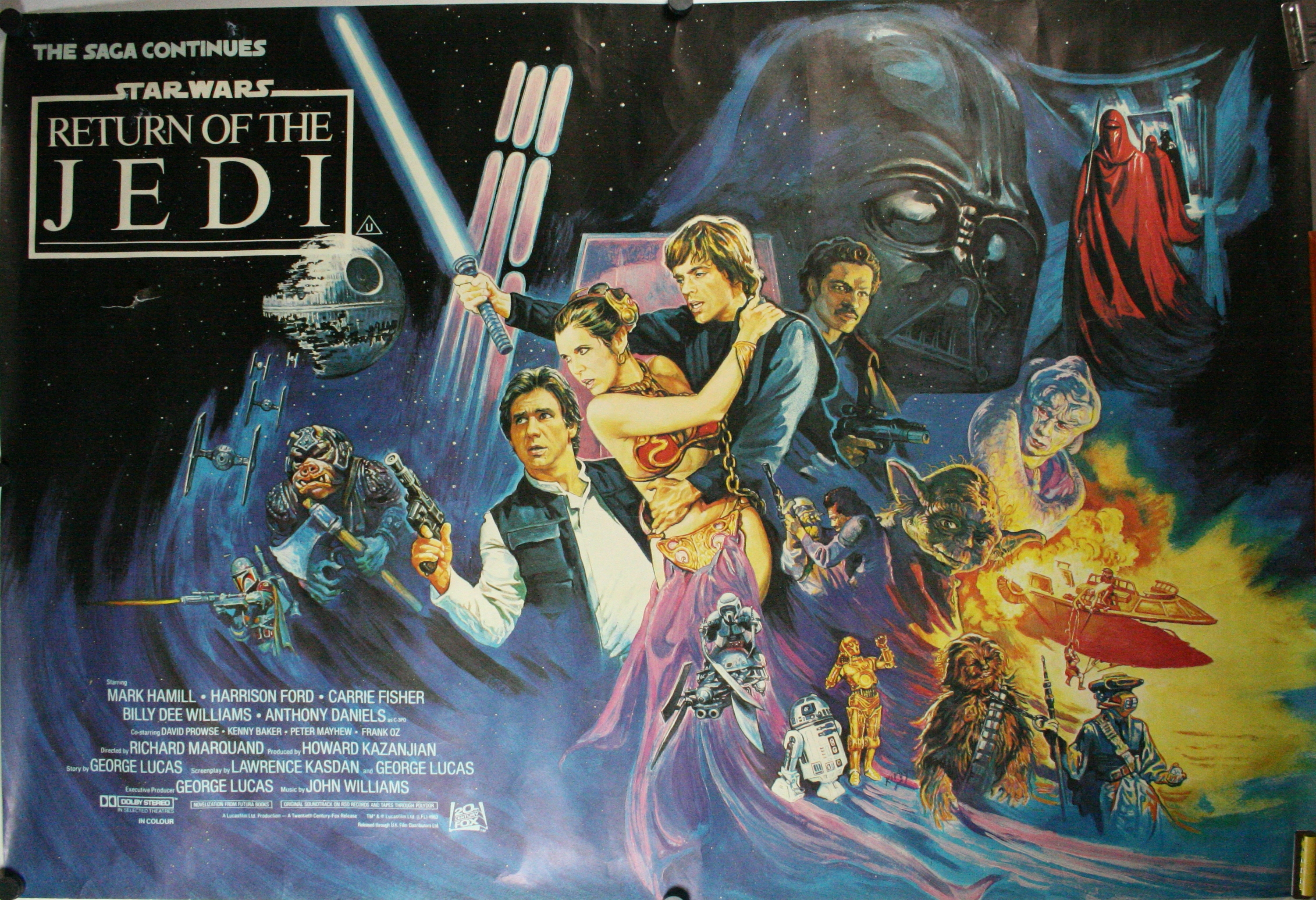 Original star wars movie posters
