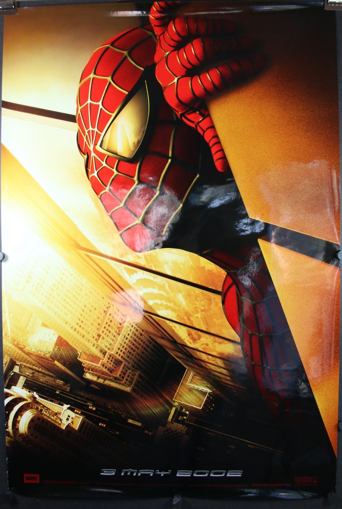 Spiderman 3 in movie theater