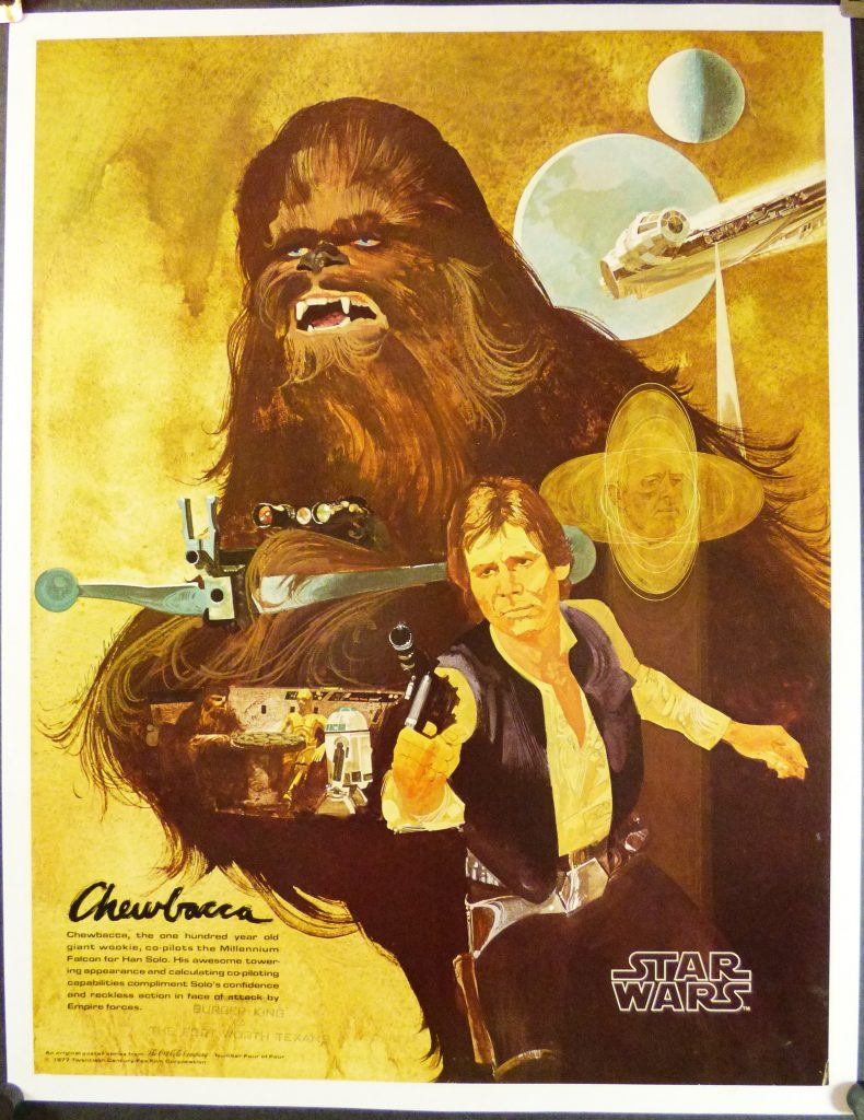 Star Wars Coca Cola Chewbaca