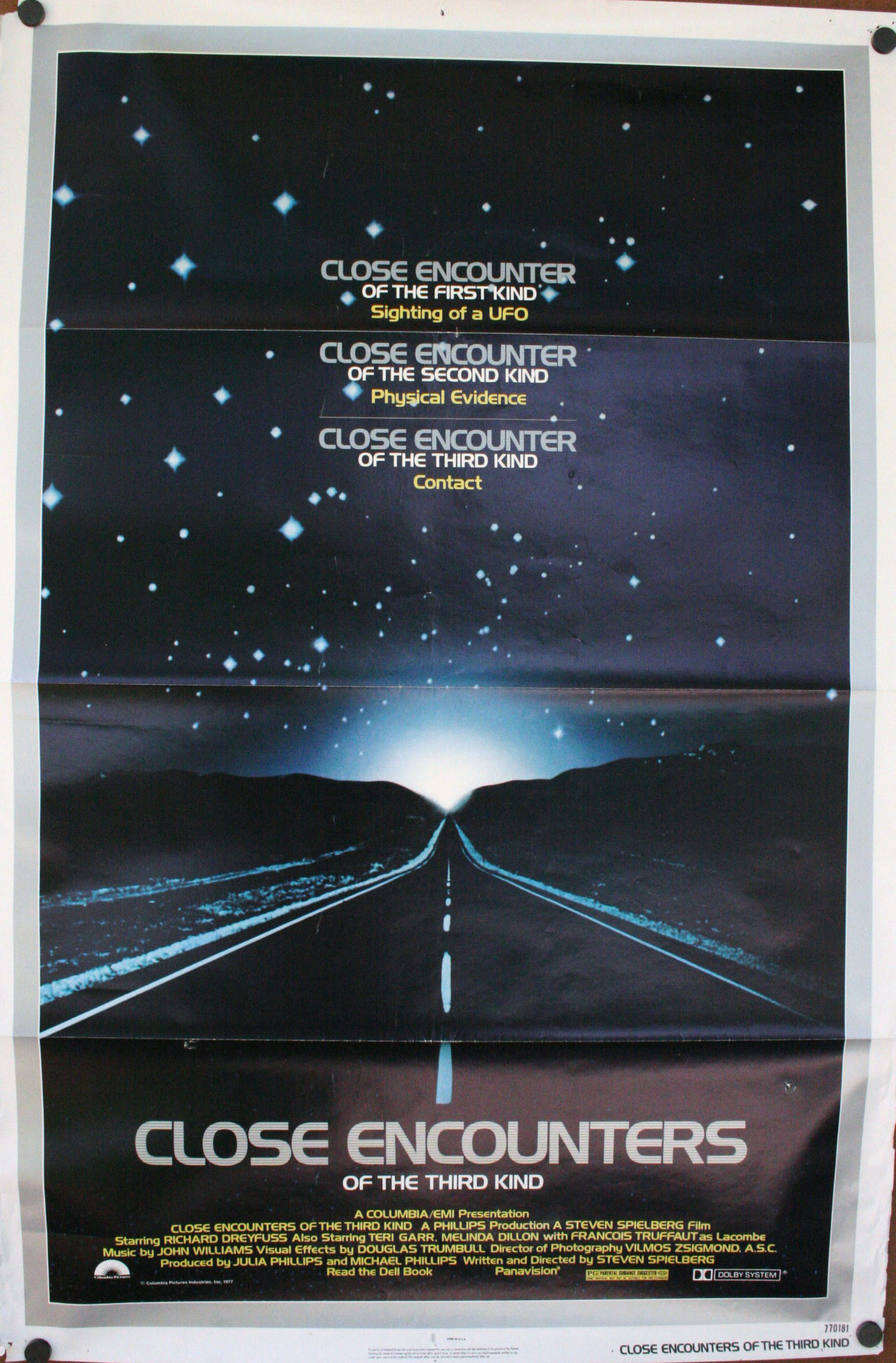 CLOSE ENCOUNTERS OF THE THIRD KIND - Spielberg Classic ...