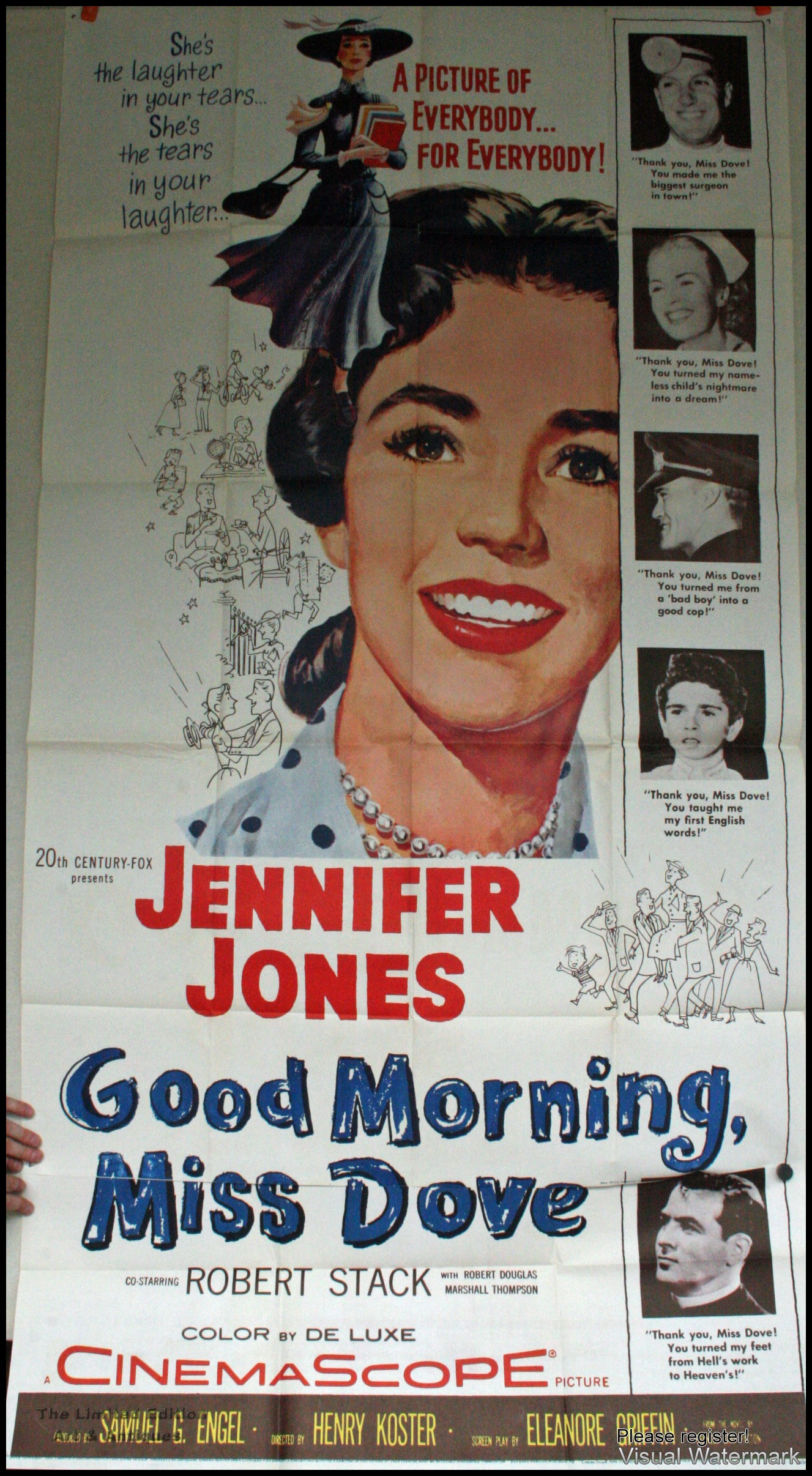Good Morning Miss Dove 3 Sheet