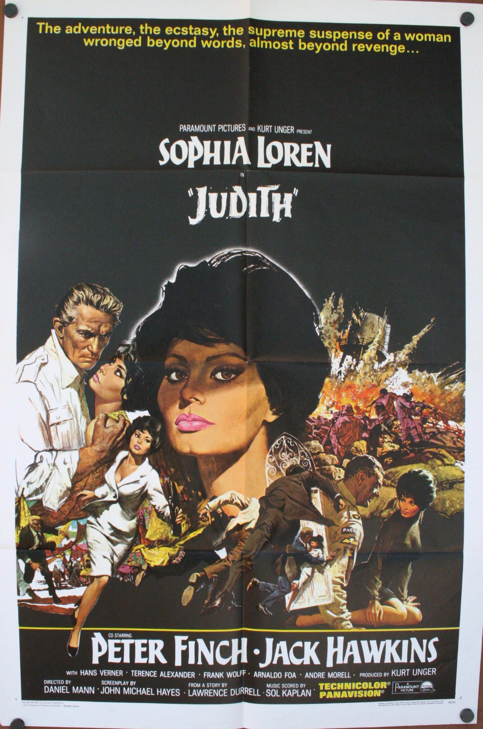 Judith Sophia Loren Poster