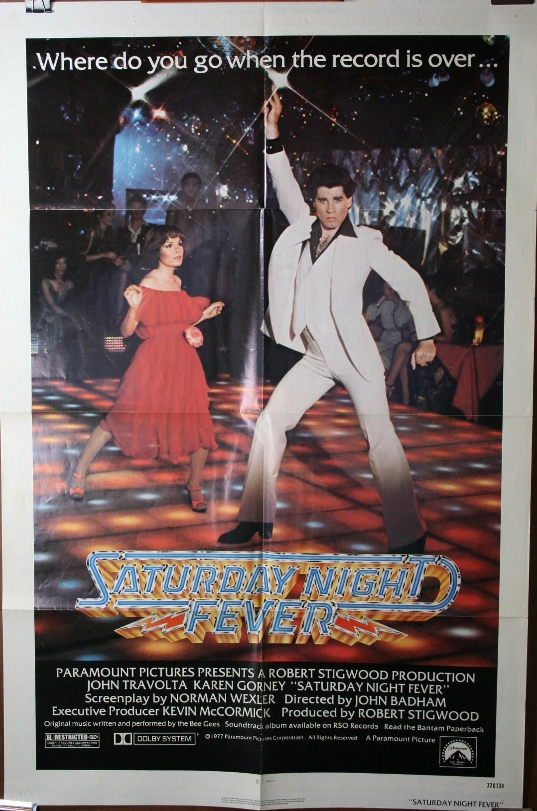 Saturday Night Fever 1 Sheet