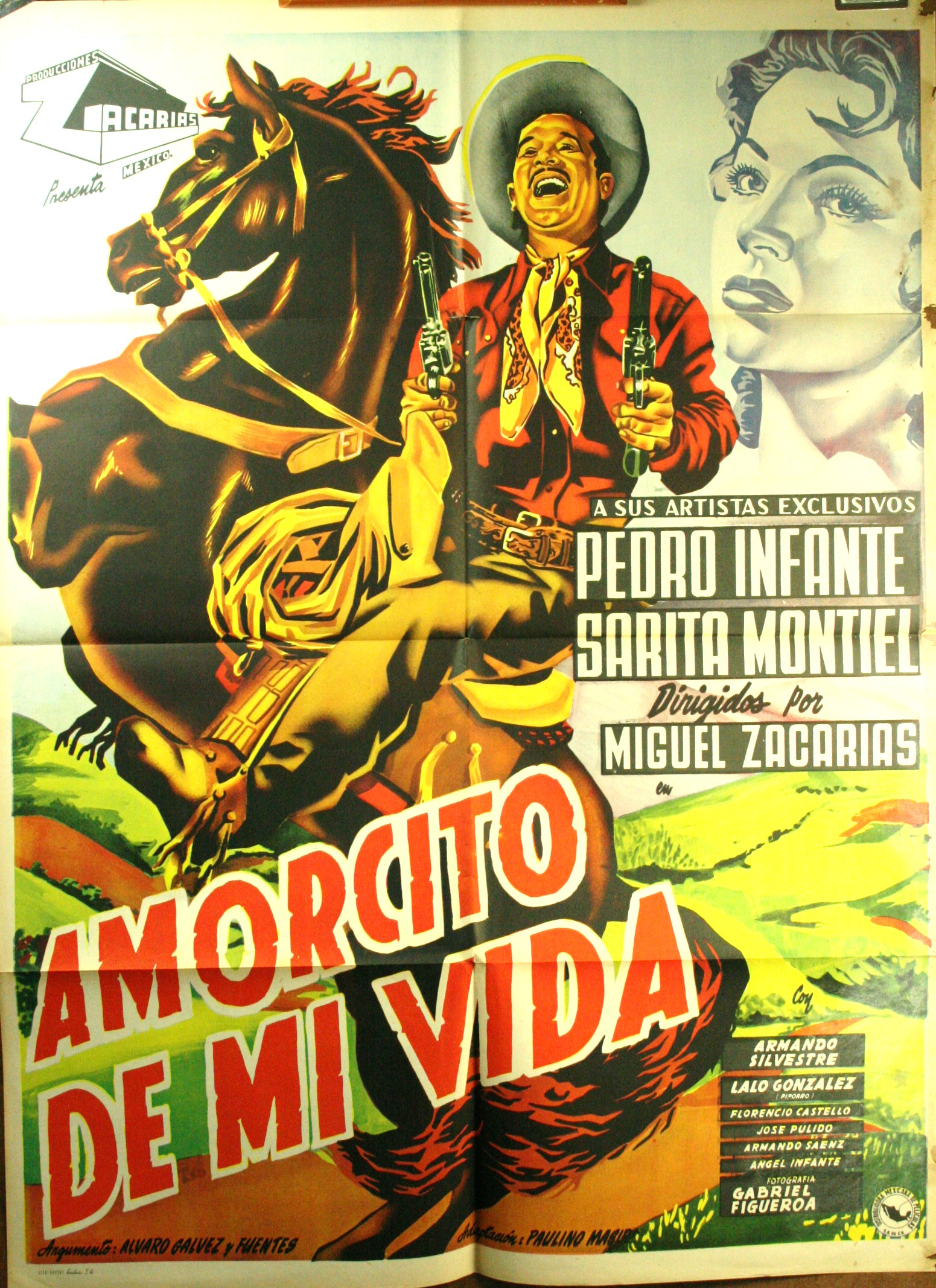 amorcito de mi vida �sweetheart of my life� 1951 mexican