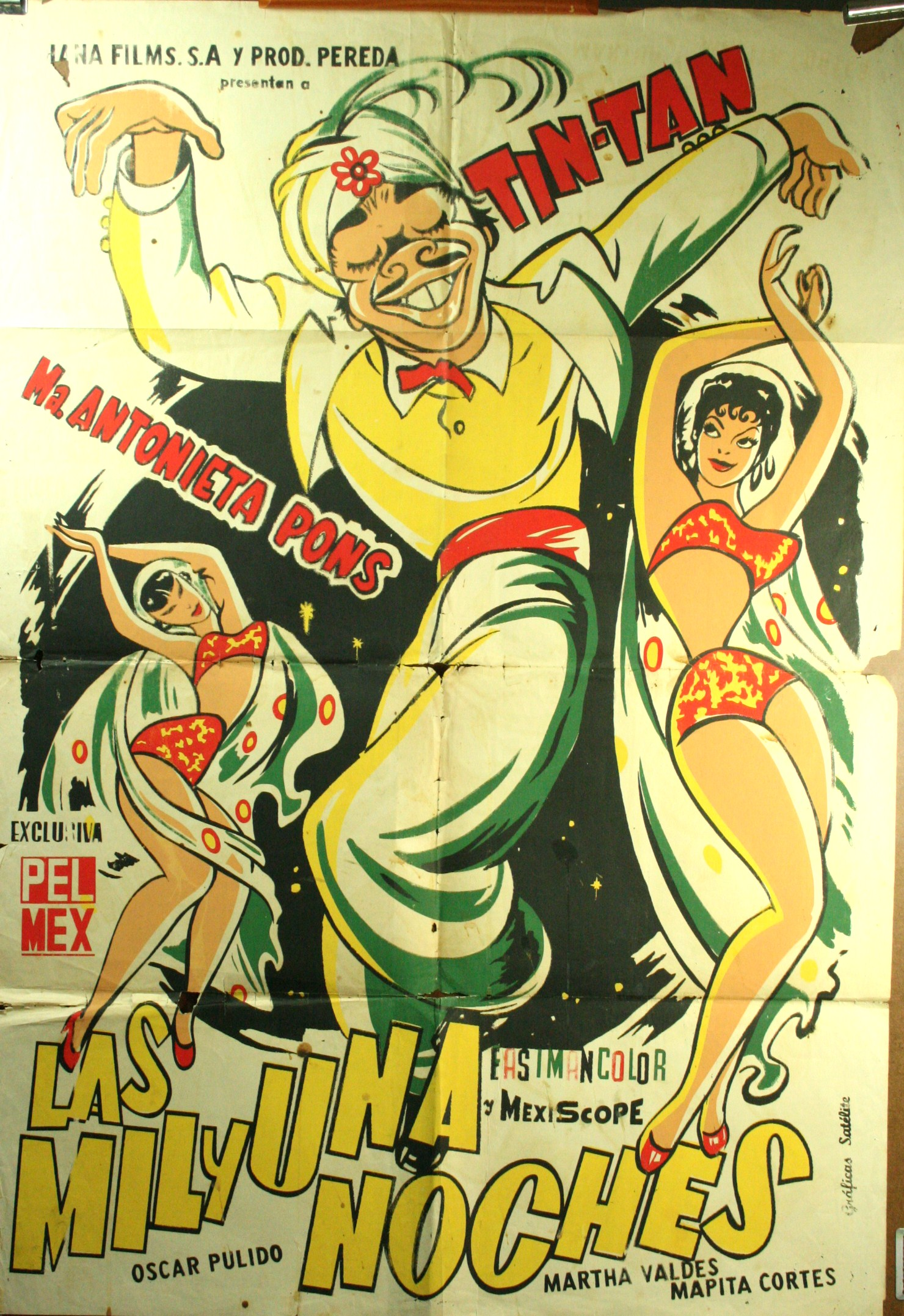 Arabian Nights Pelicula Completa Español las mil y una noches (arabian nights) cartel de la película